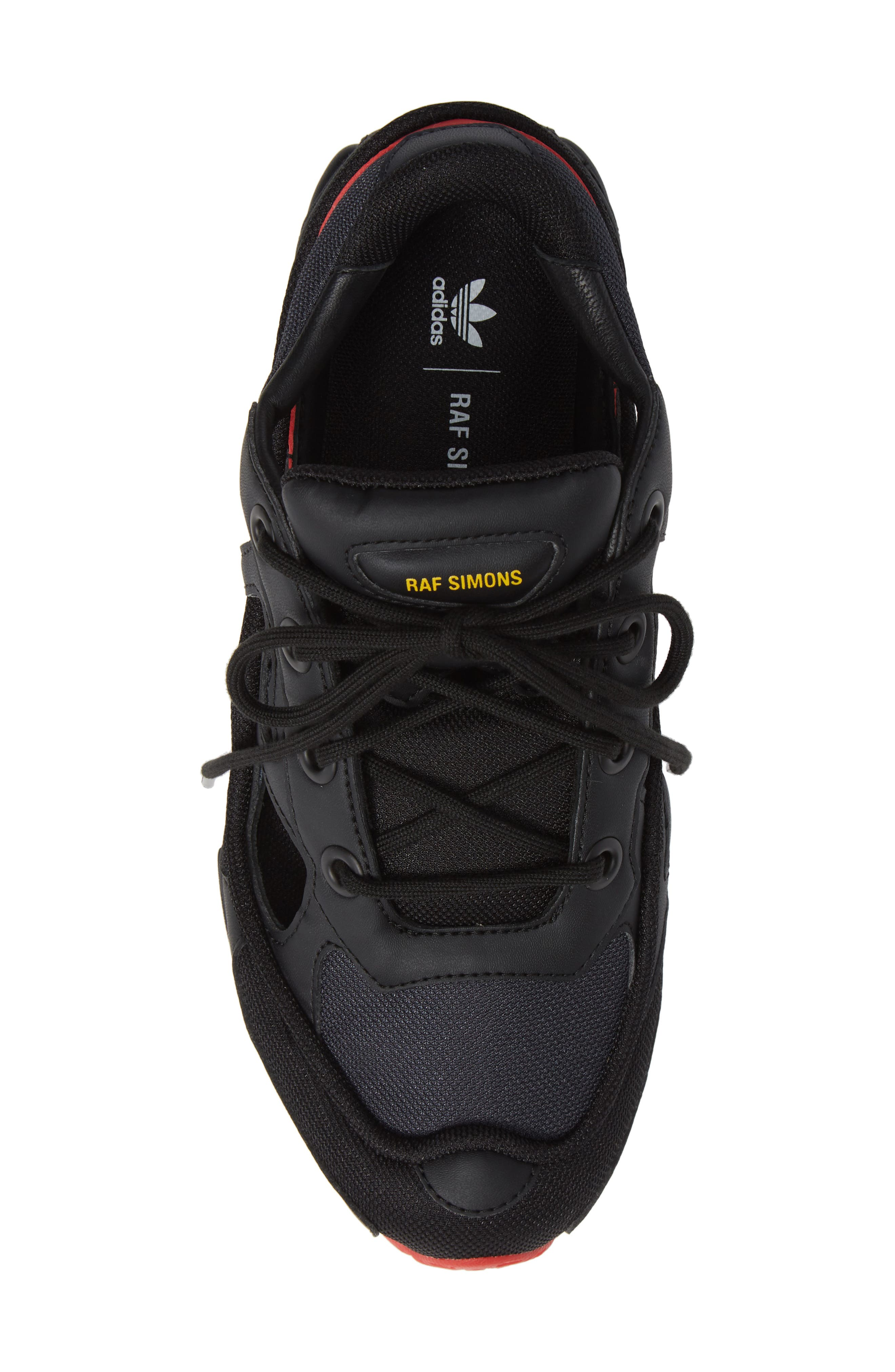 adidas by Raf Simons Replicant Ozweego Sneaker,                             Alternate thumbnail 5, color,                             001