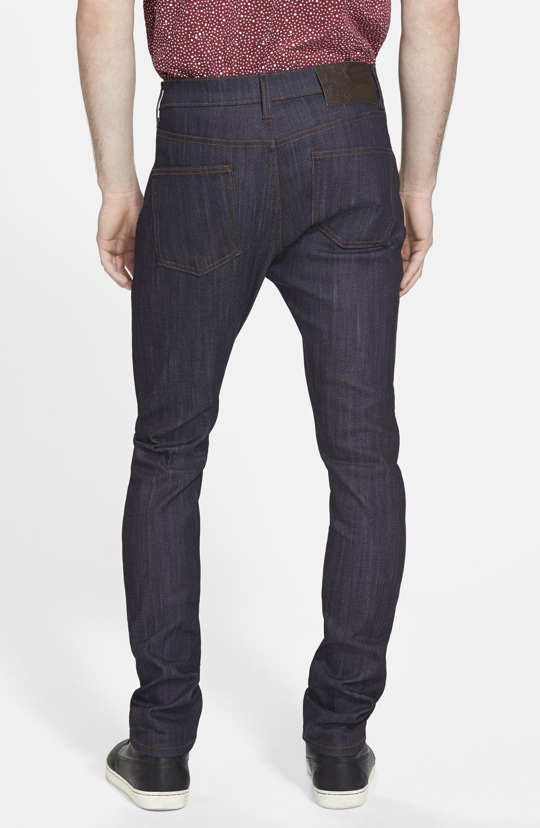 'Stacked Guy' Skinny Fit Jeans,                             Alternate thumbnail 3, color,                             401