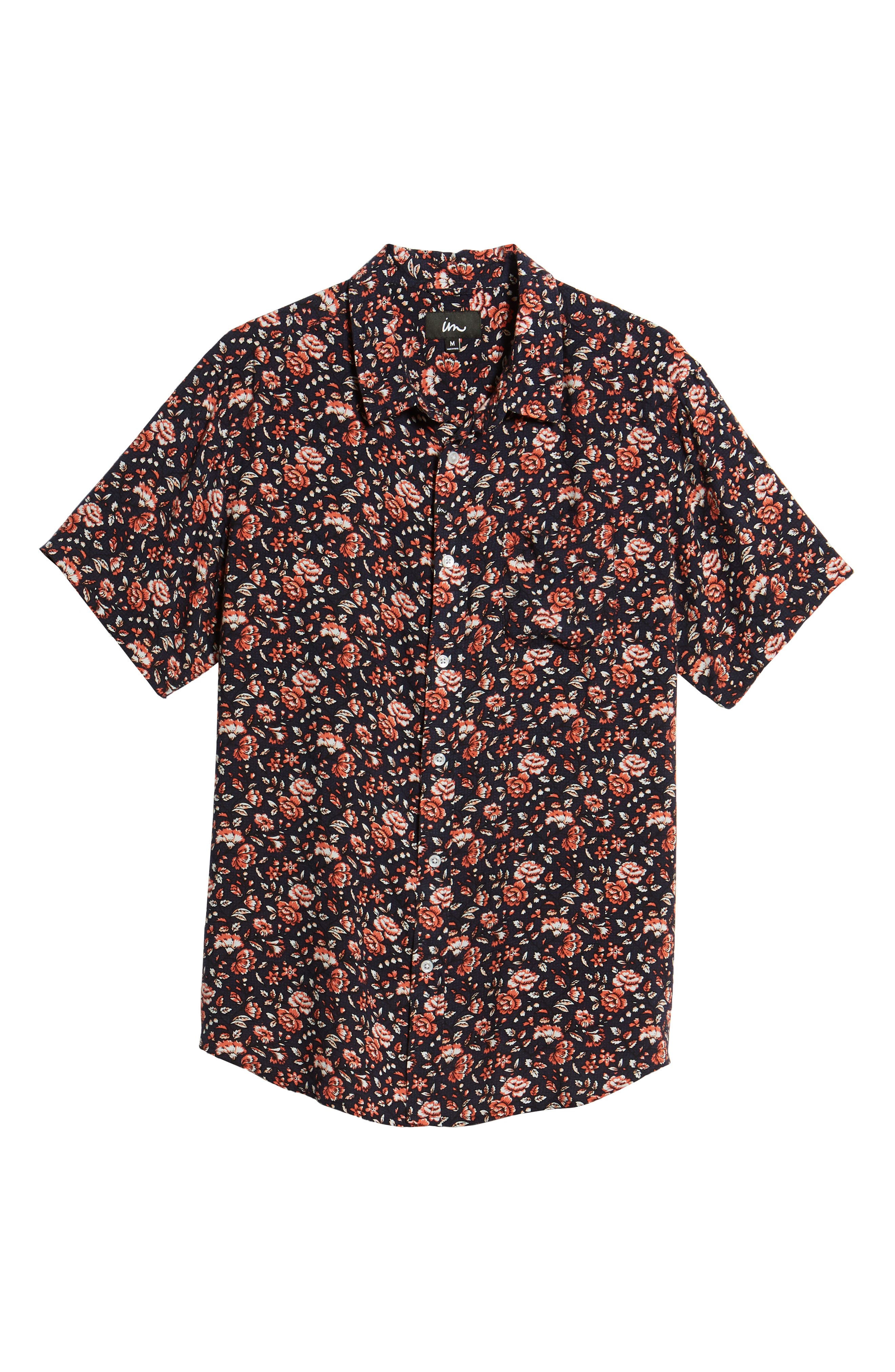 Synth Woven Shirt,                             Alternate thumbnail 6, color,                             400