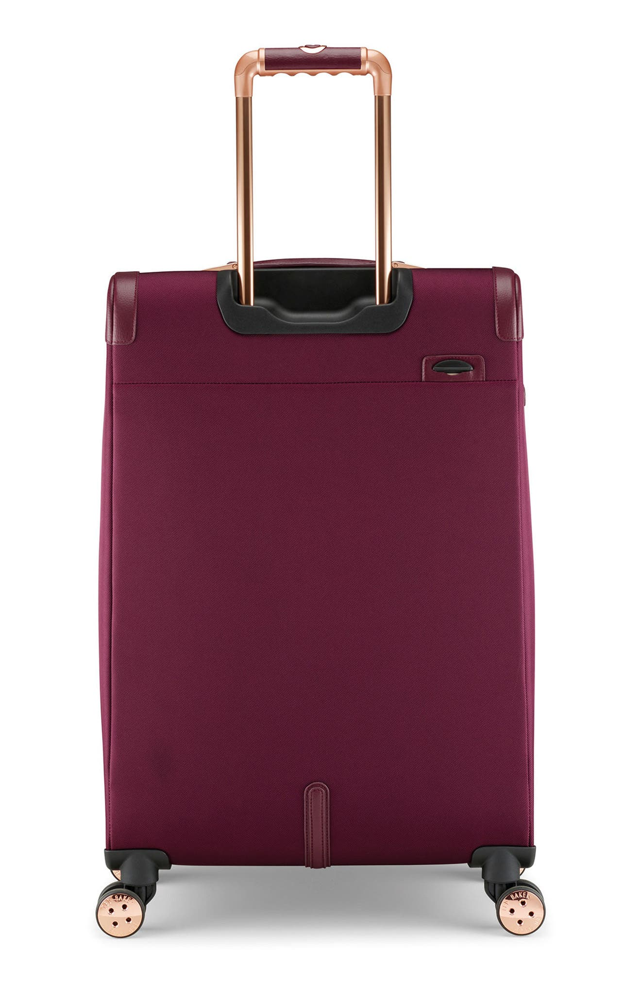 28-Inch Spinner Trolley Packing Case,                             Alternate thumbnail 4, color,                             BURGUNDY