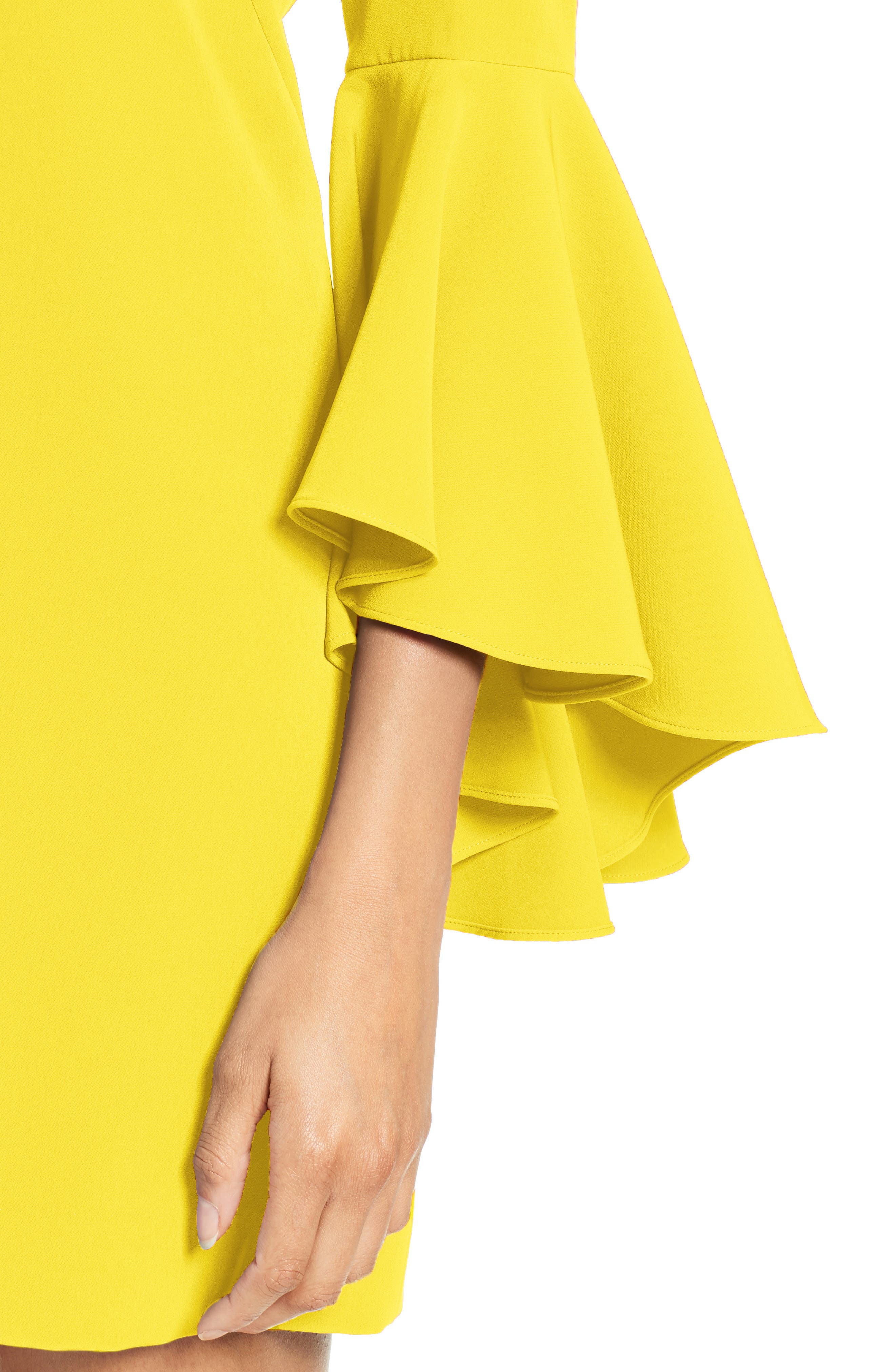 Nicole Bell Sleeve Dress,                             Alternate thumbnail 58, color,