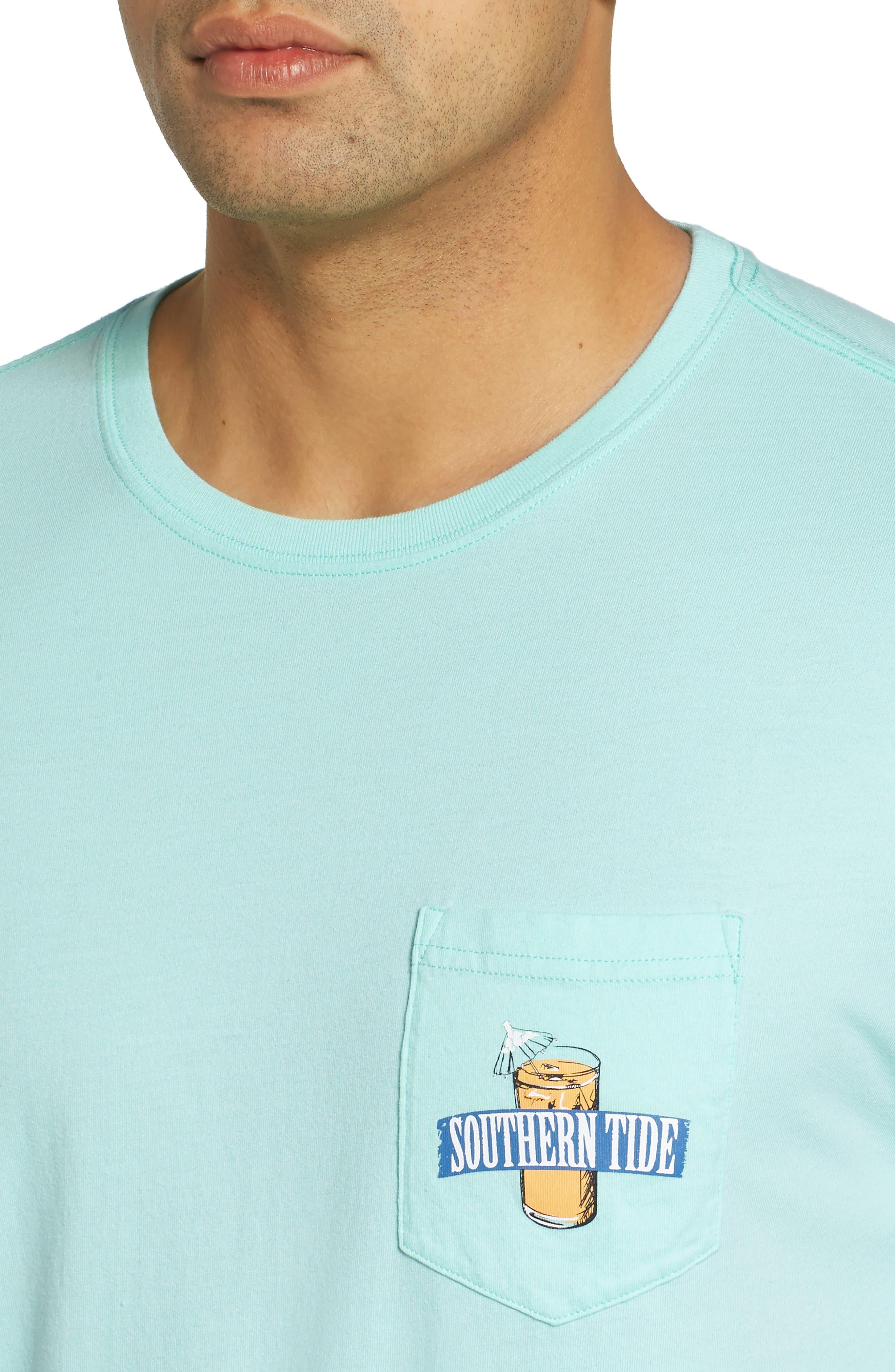 Southern Mix Crewneck T-Shirt,                             Alternate thumbnail 4, color,                             376