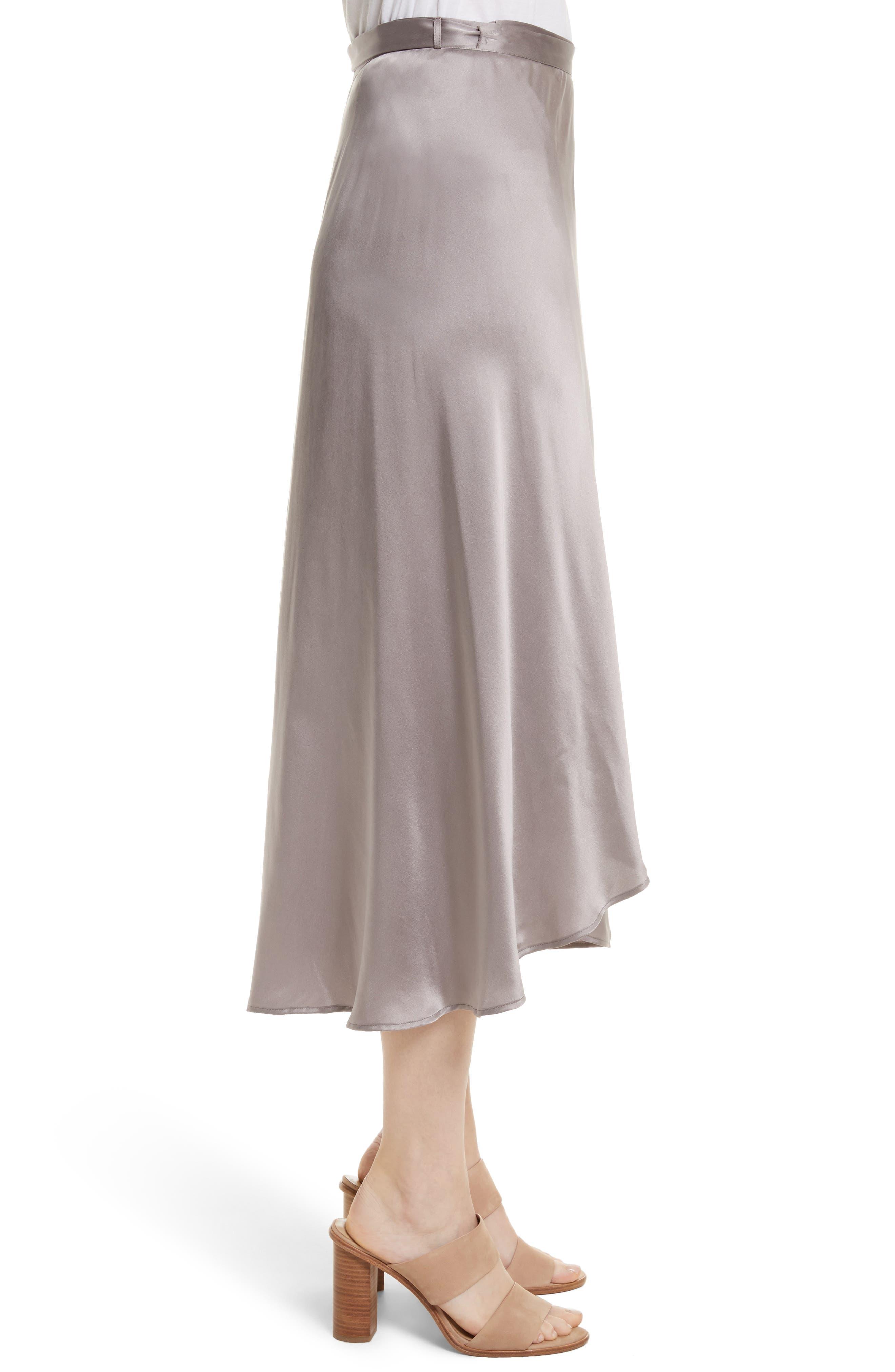 Dahoma Silk Wrap Midi Skirt,                             Alternate thumbnail 3, color,                             042