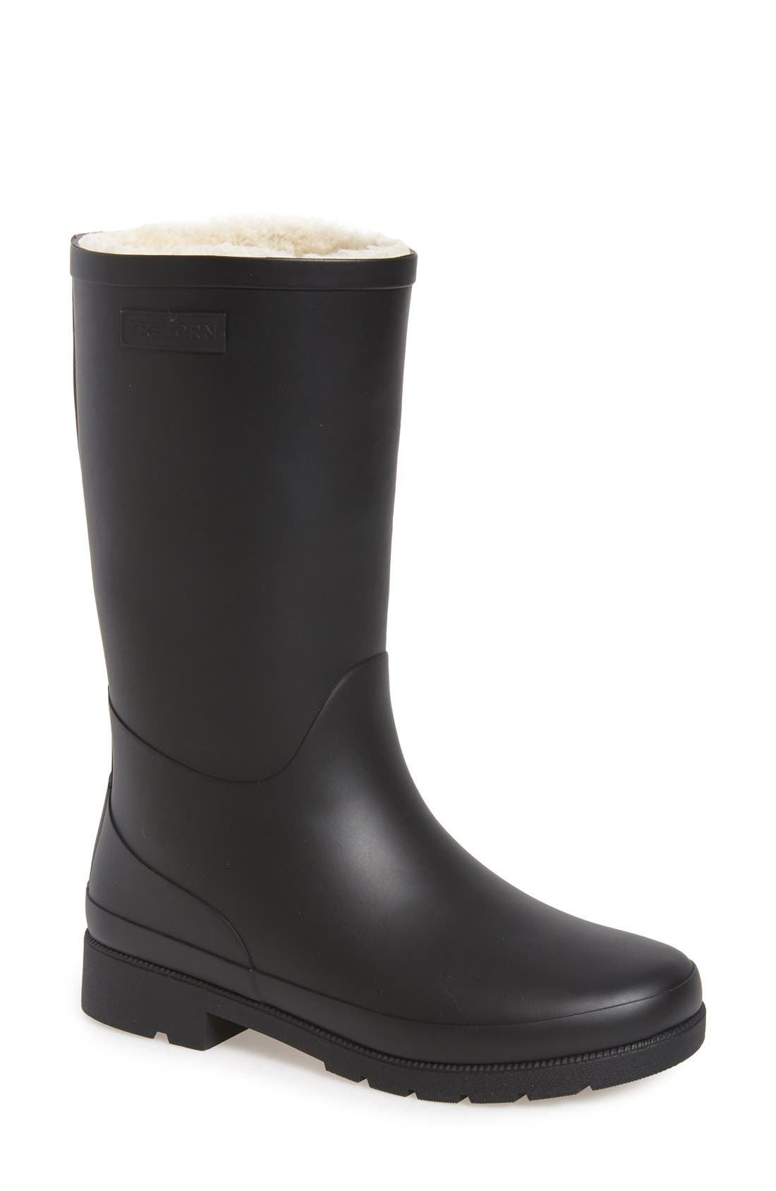 TRETORN,                             'Libby' Rain Boot,                             Main thumbnail 1, color,                             001