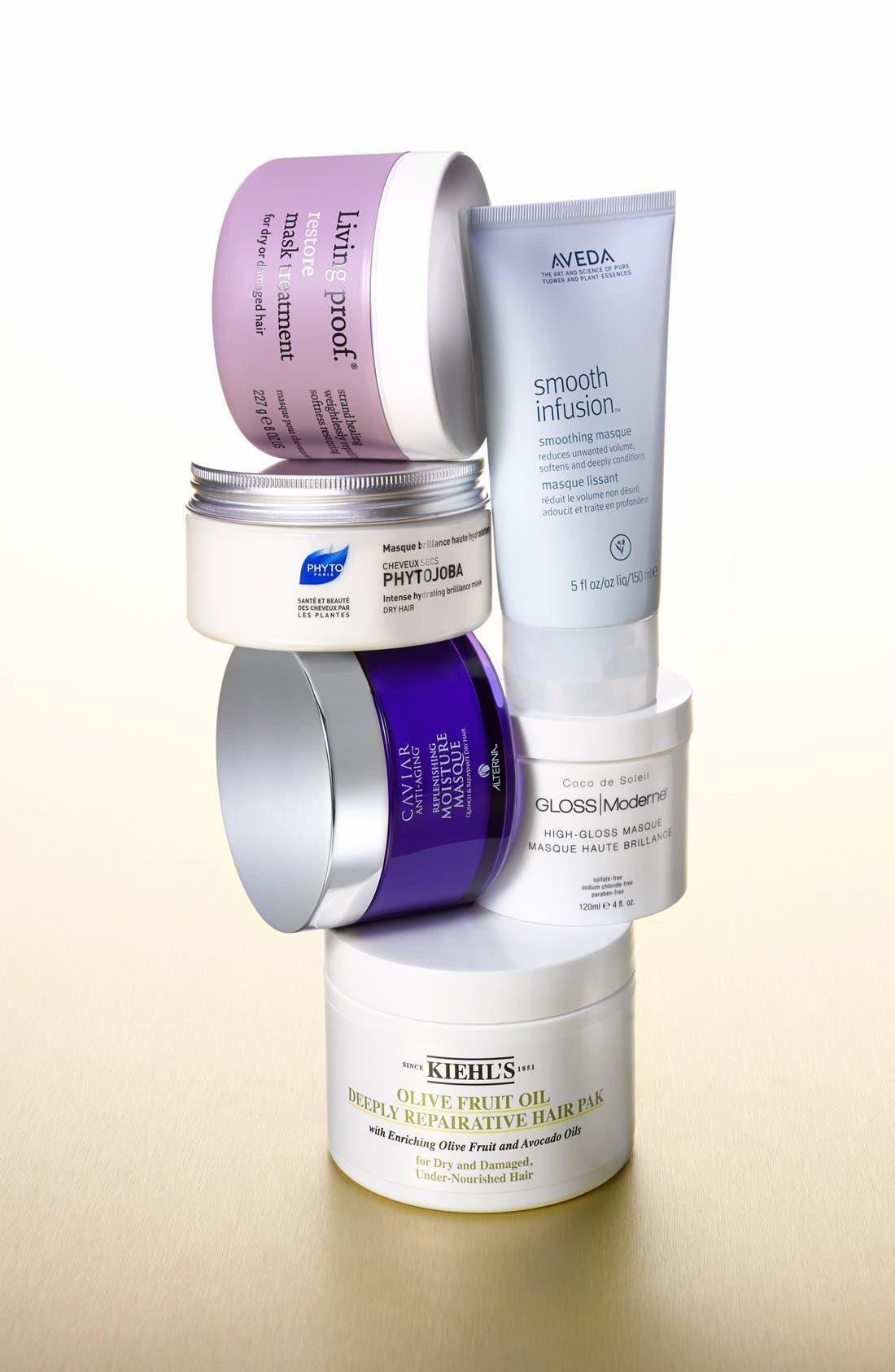 Olive Fruit Oil Repairing Hair Masque,                             Alternate thumbnail 6, color,                             NO COLOR