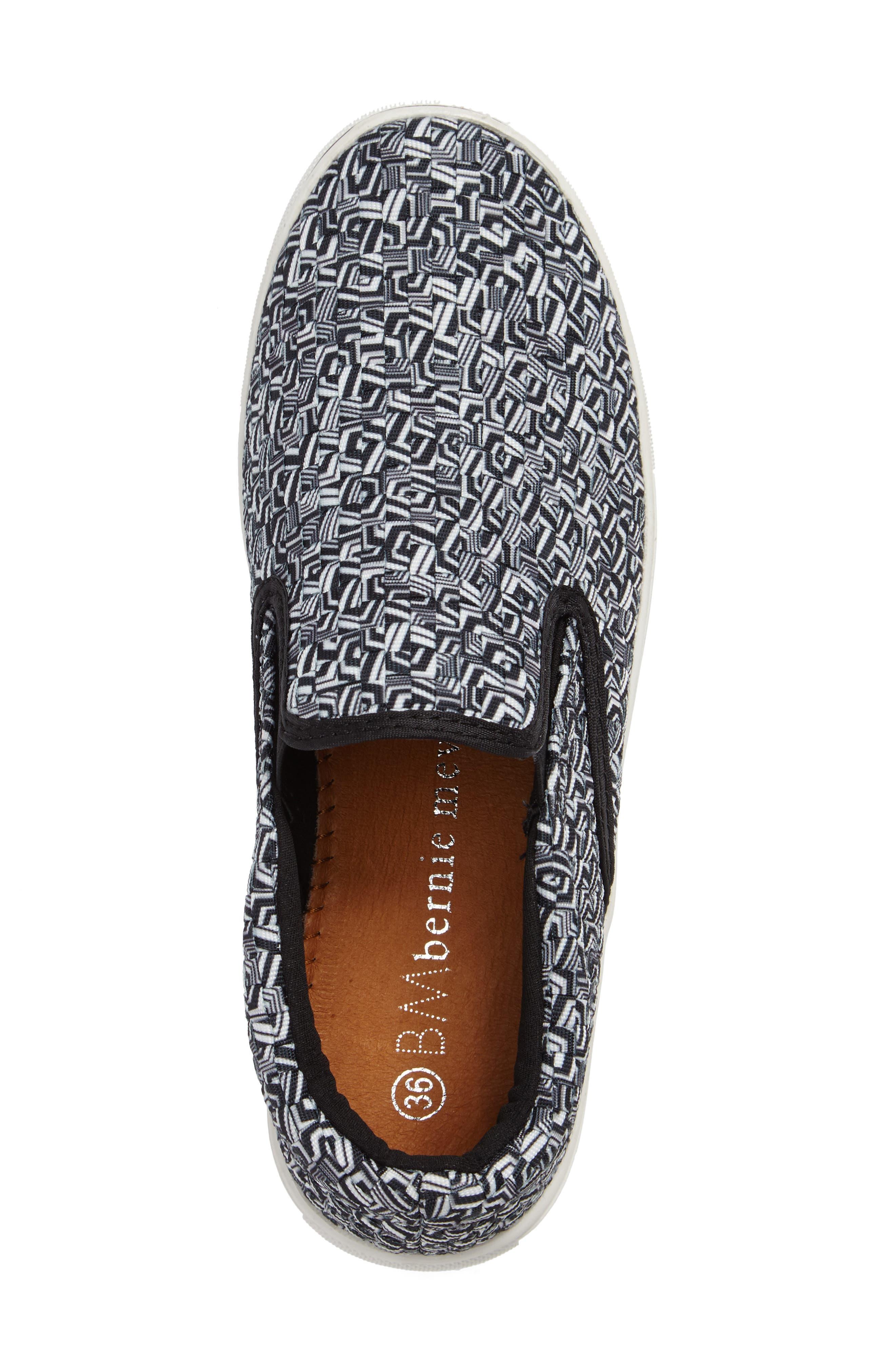 'Verona' Slip-On Sneaker,                             Alternate thumbnail 3, color,                             MARBLE FABRIC