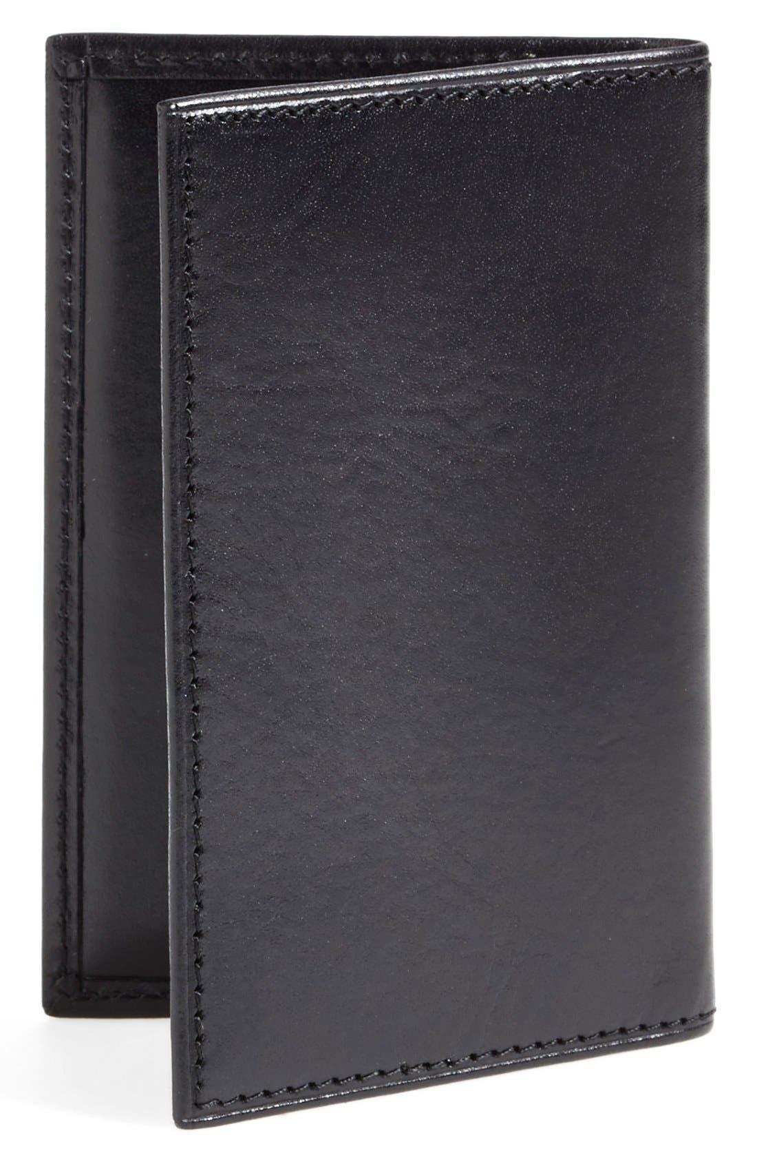 Calling Card Case,                             Alternate thumbnail 3, color,                             BLACK