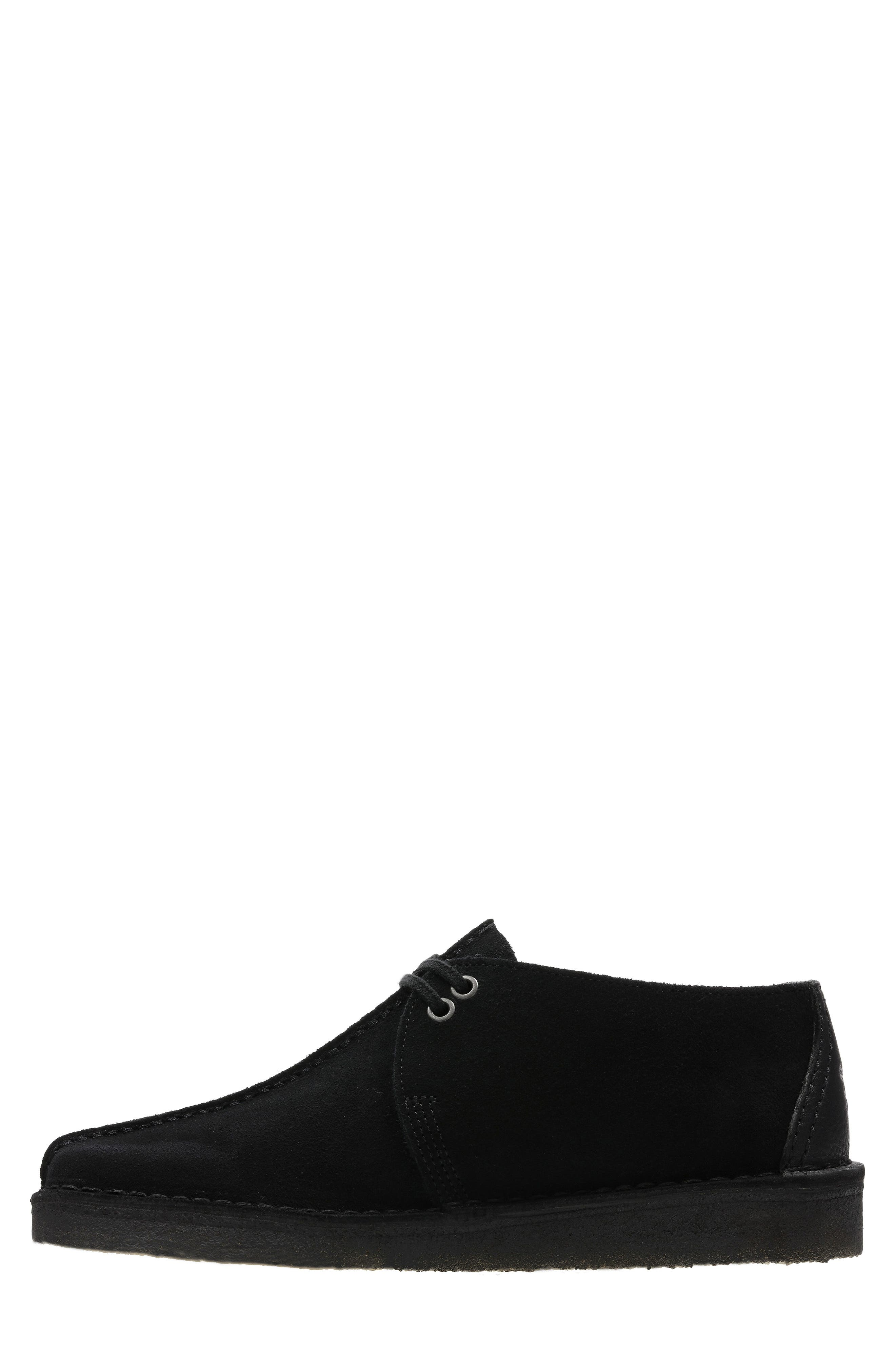 Originals 'Desert - Trek' Oxford,                             Alternate thumbnail 5, color,                             BLACK/BLACK SUEDE