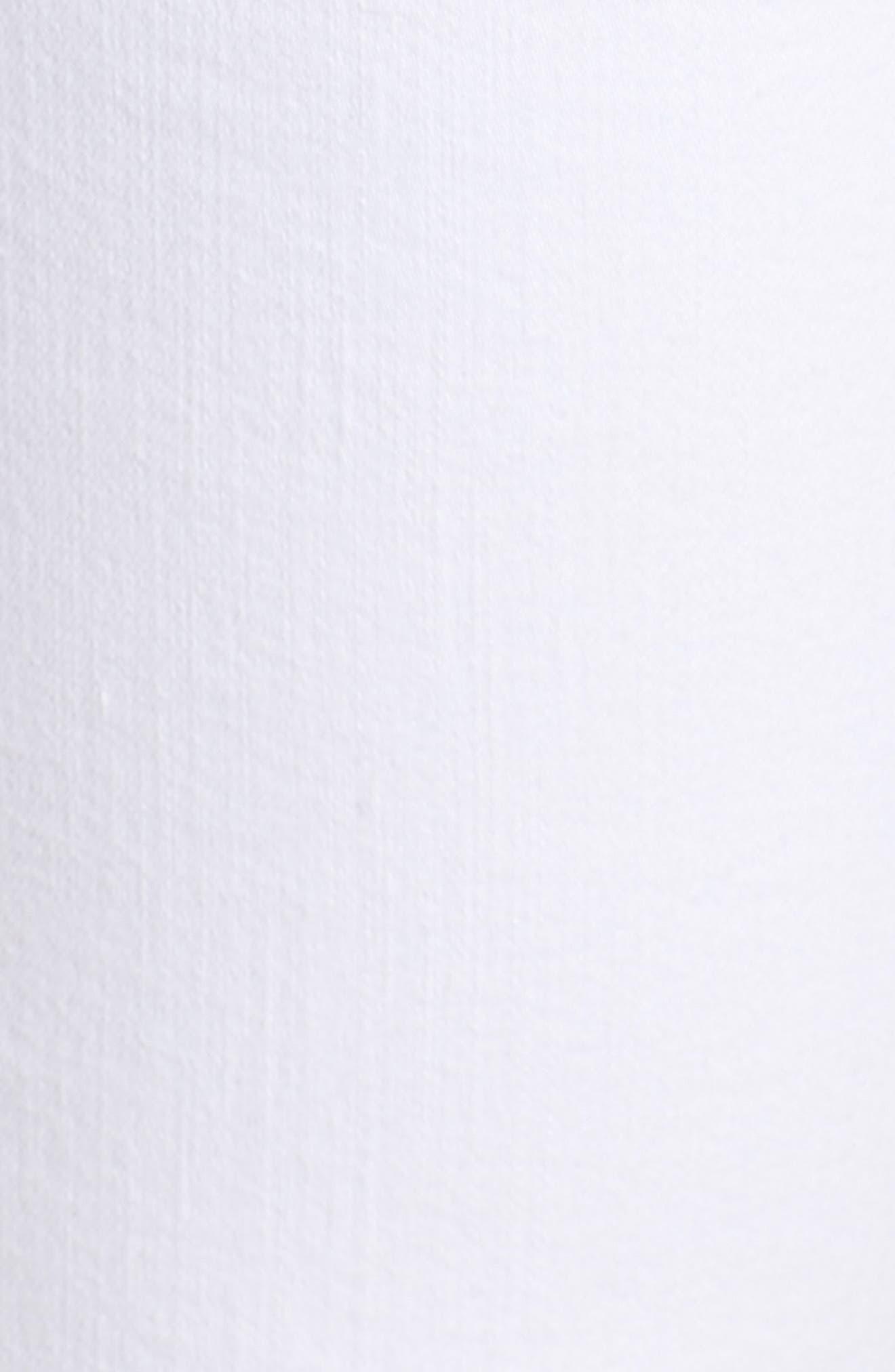 The Dre Ankle Slim Boyfriend Jeans,                             Alternate thumbnail 6, color,                             WHITE