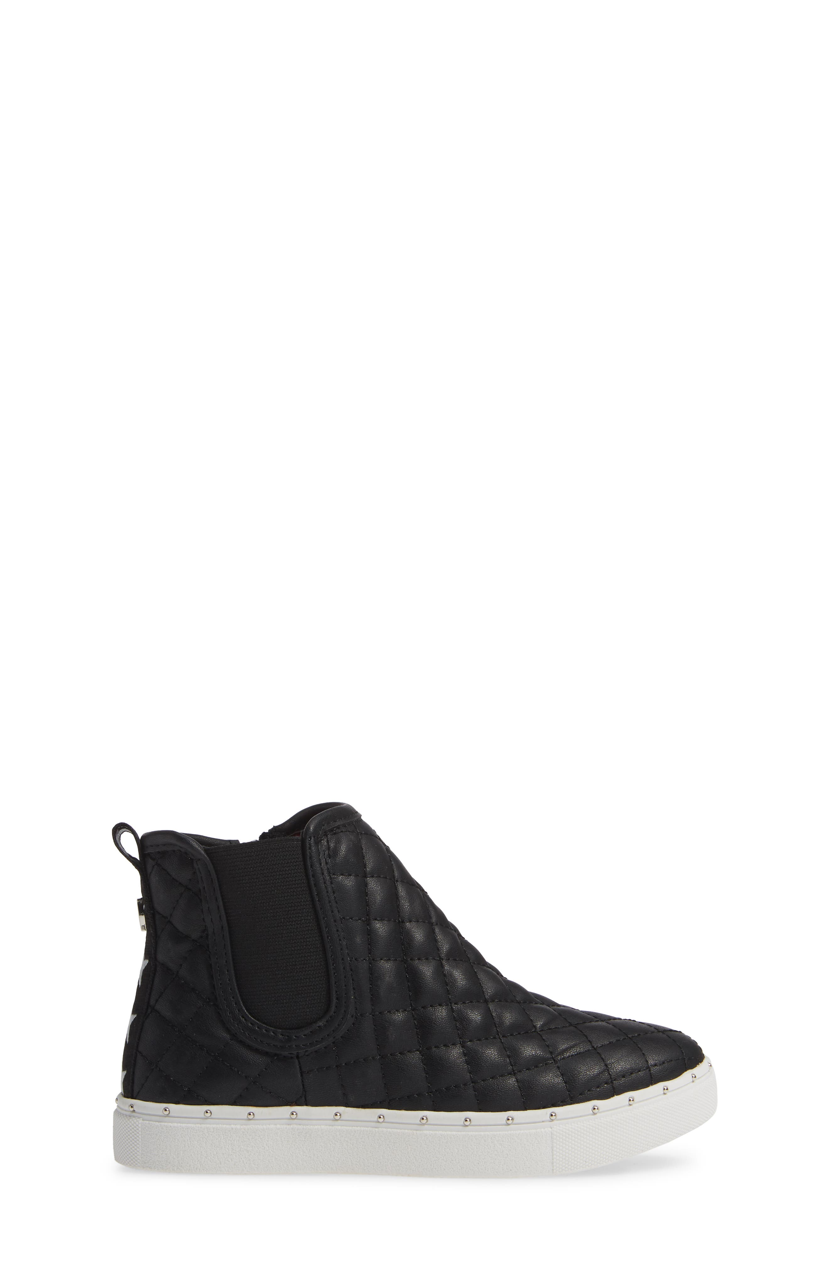 JQuest High Top Platform Sneaker,                             Alternate thumbnail 3, color,                             BLACK