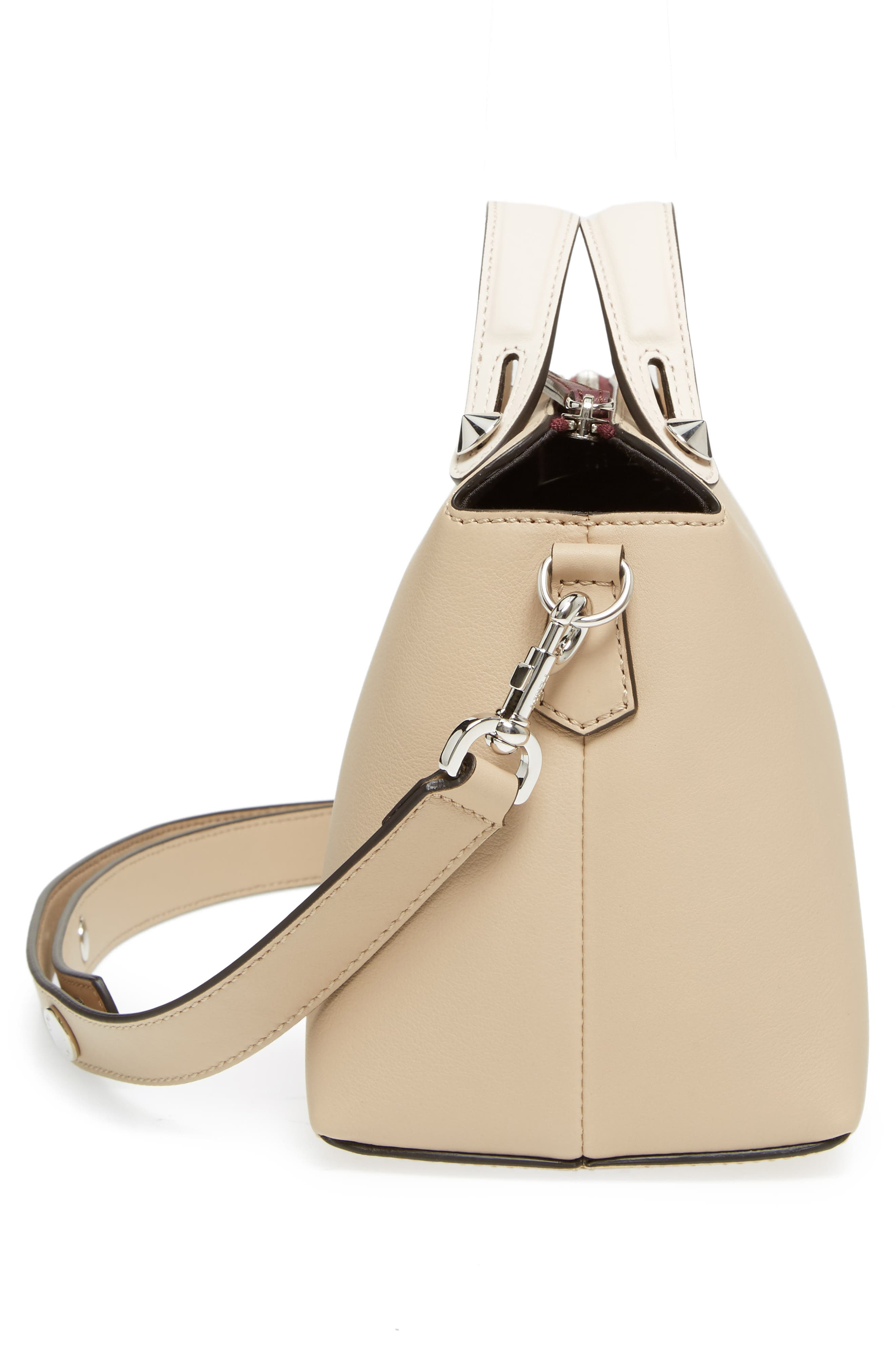 'Medium By the Way' Colorblock Leather Shoulder Bag,                             Alternate thumbnail 55, color,