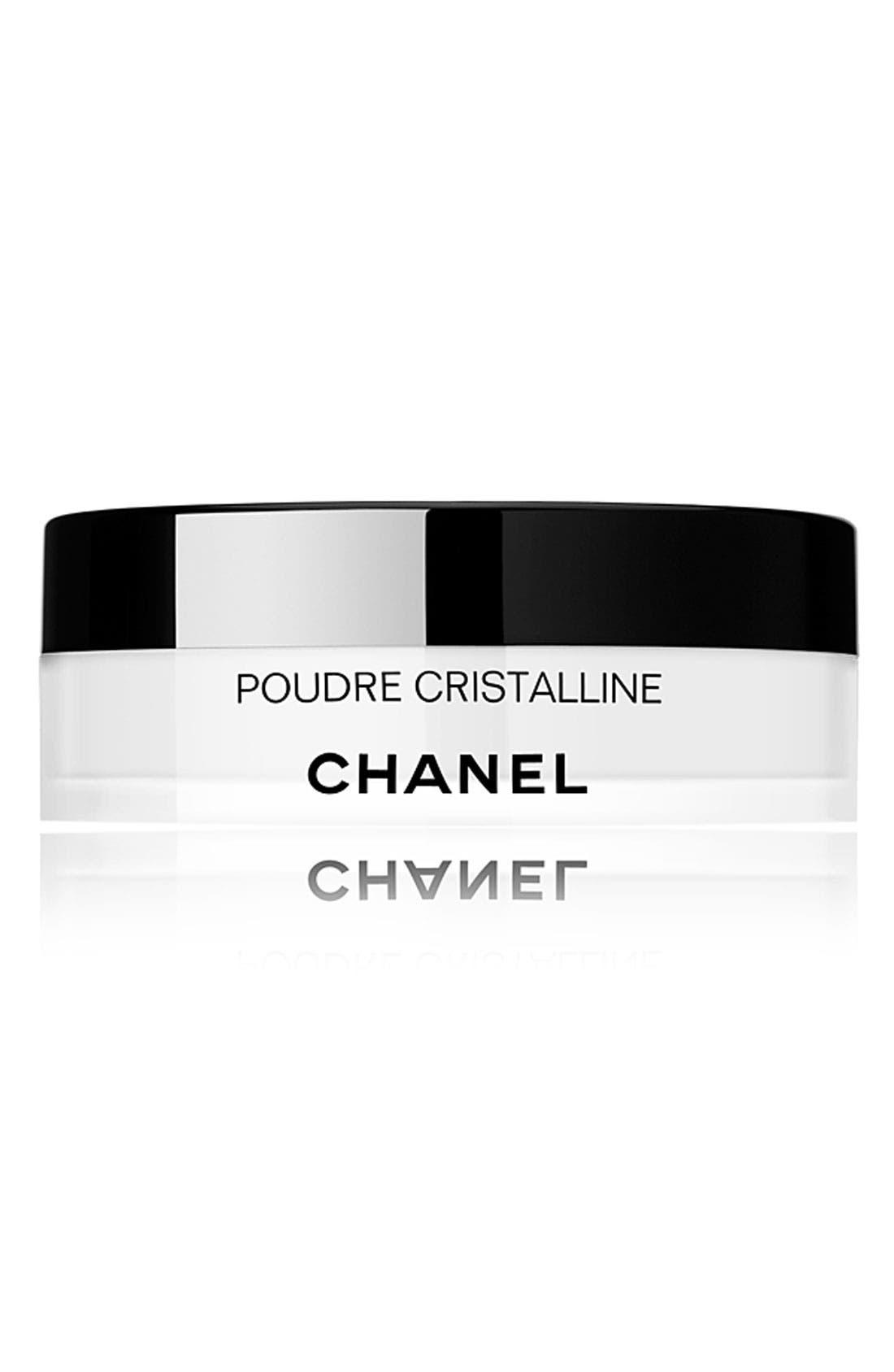 POUDRE CRISTALLINE Ultra-Fine Translucent Powder with Deluxe Puff, Main, color, 000
