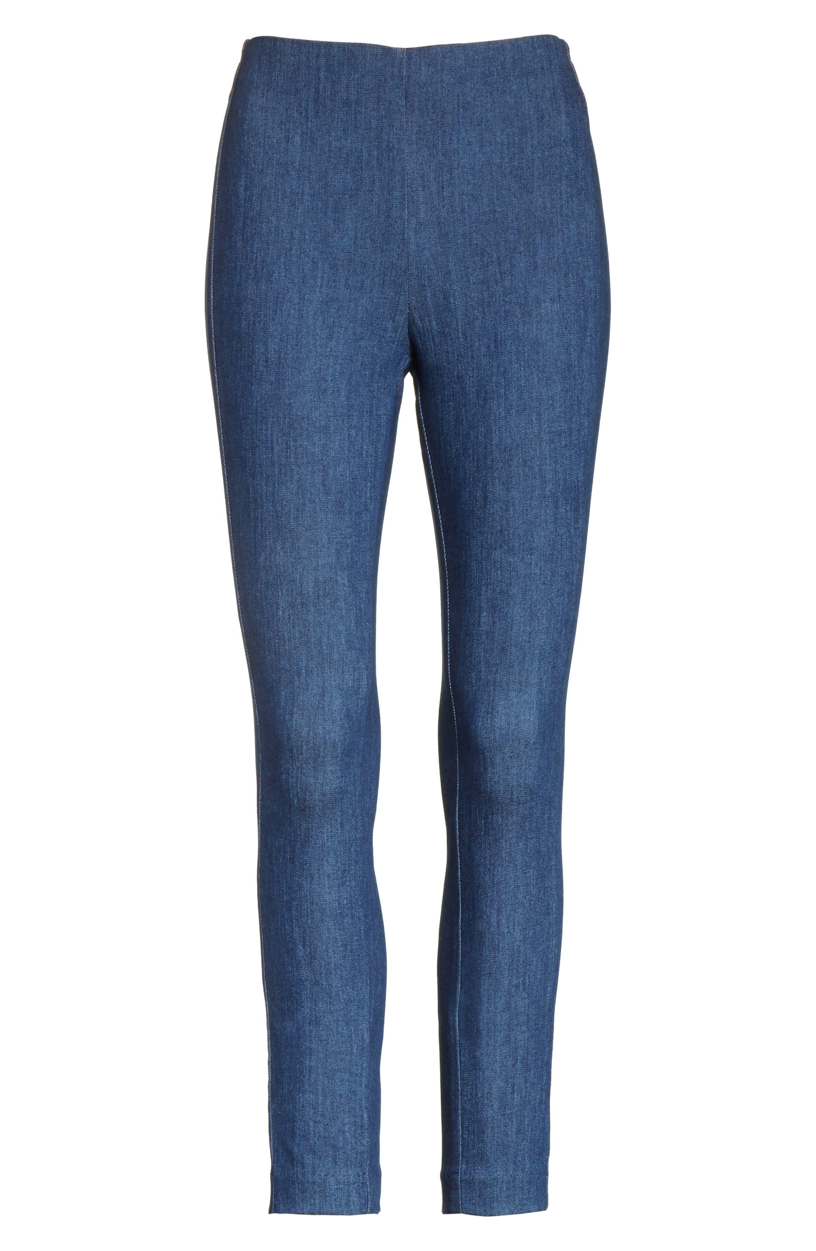 Simone Slim Ankle Pants,                             Alternate thumbnail 6, color,                             420