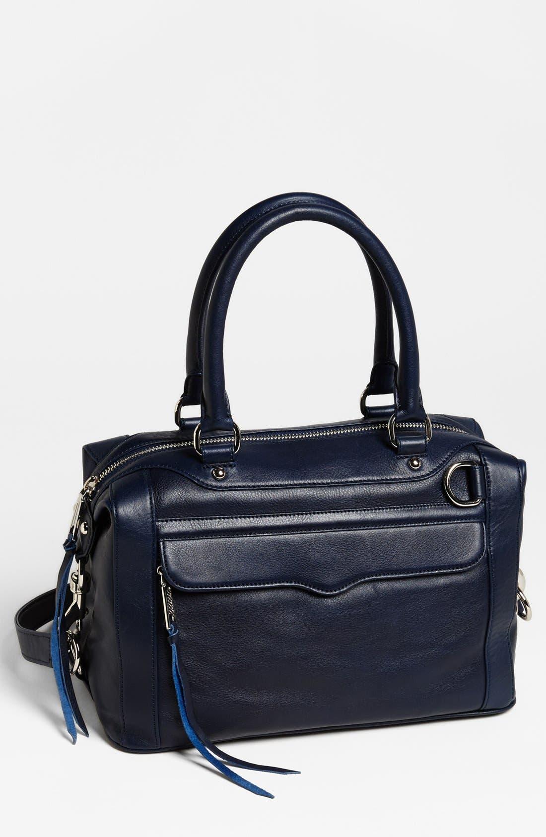 'MAB - Mini' Leather Satchel,                             Main thumbnail 7, color,
