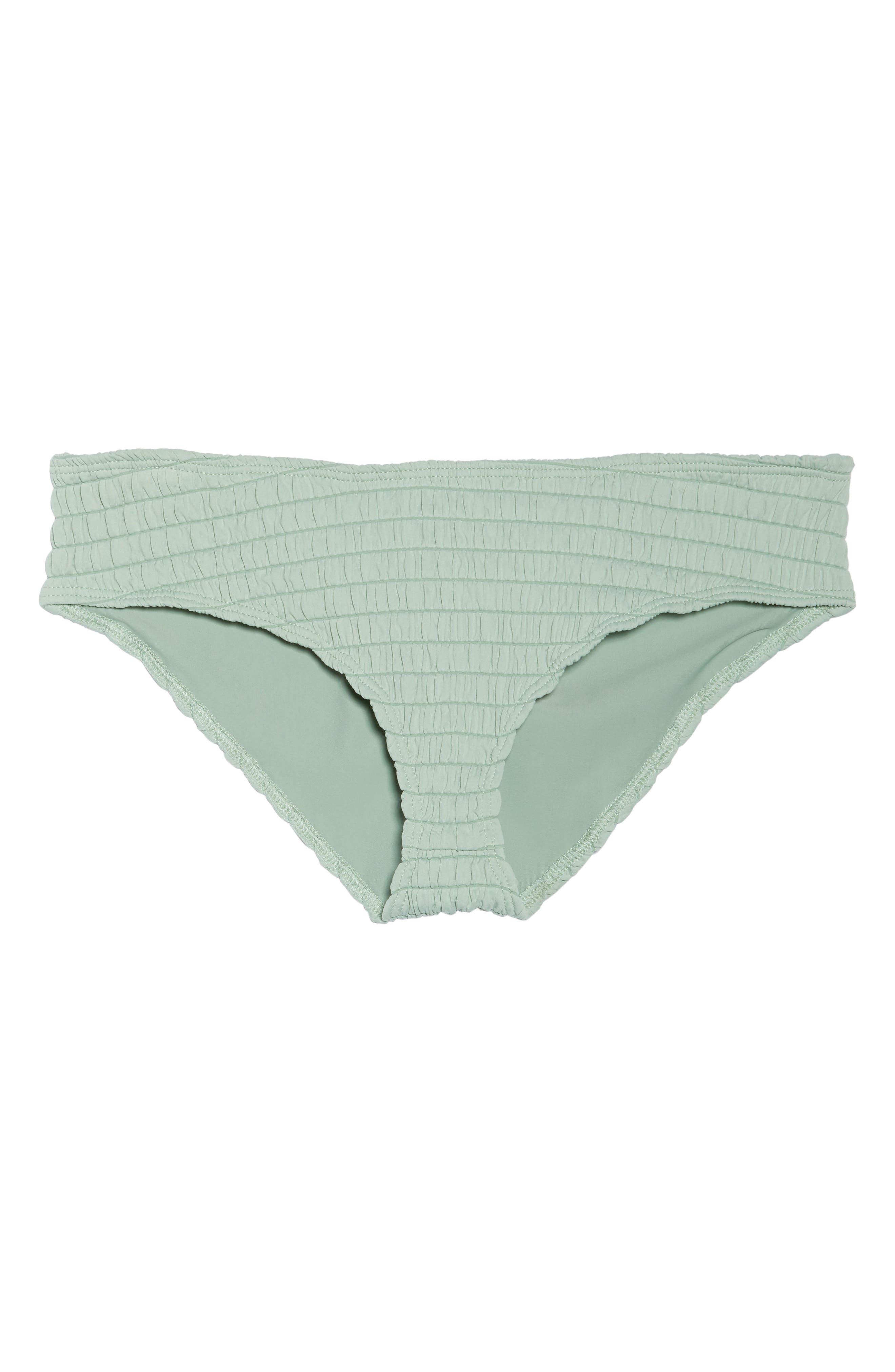 AC Nu Micro Bikini Bottoms,                             Alternate thumbnail 6, color,                             PISTACHE SCRUNCH GREEN