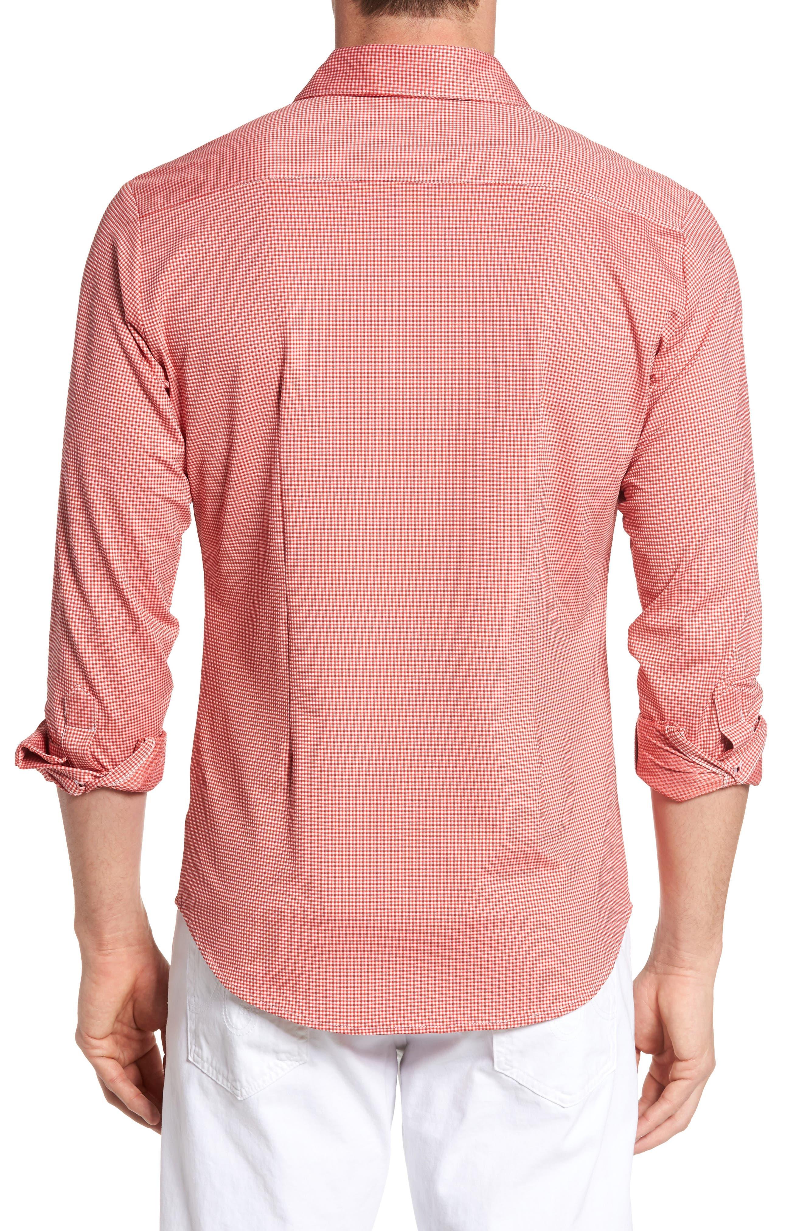 MIZZEN+MAIN,                             Hawthorne Gingham Sport Shirt,                             Alternate thumbnail 2, color,                             600