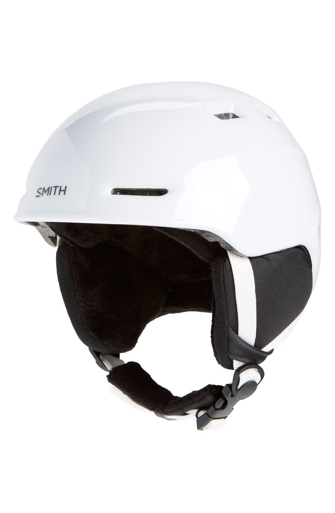 'Zoom Jr.' Snow Helmet - White