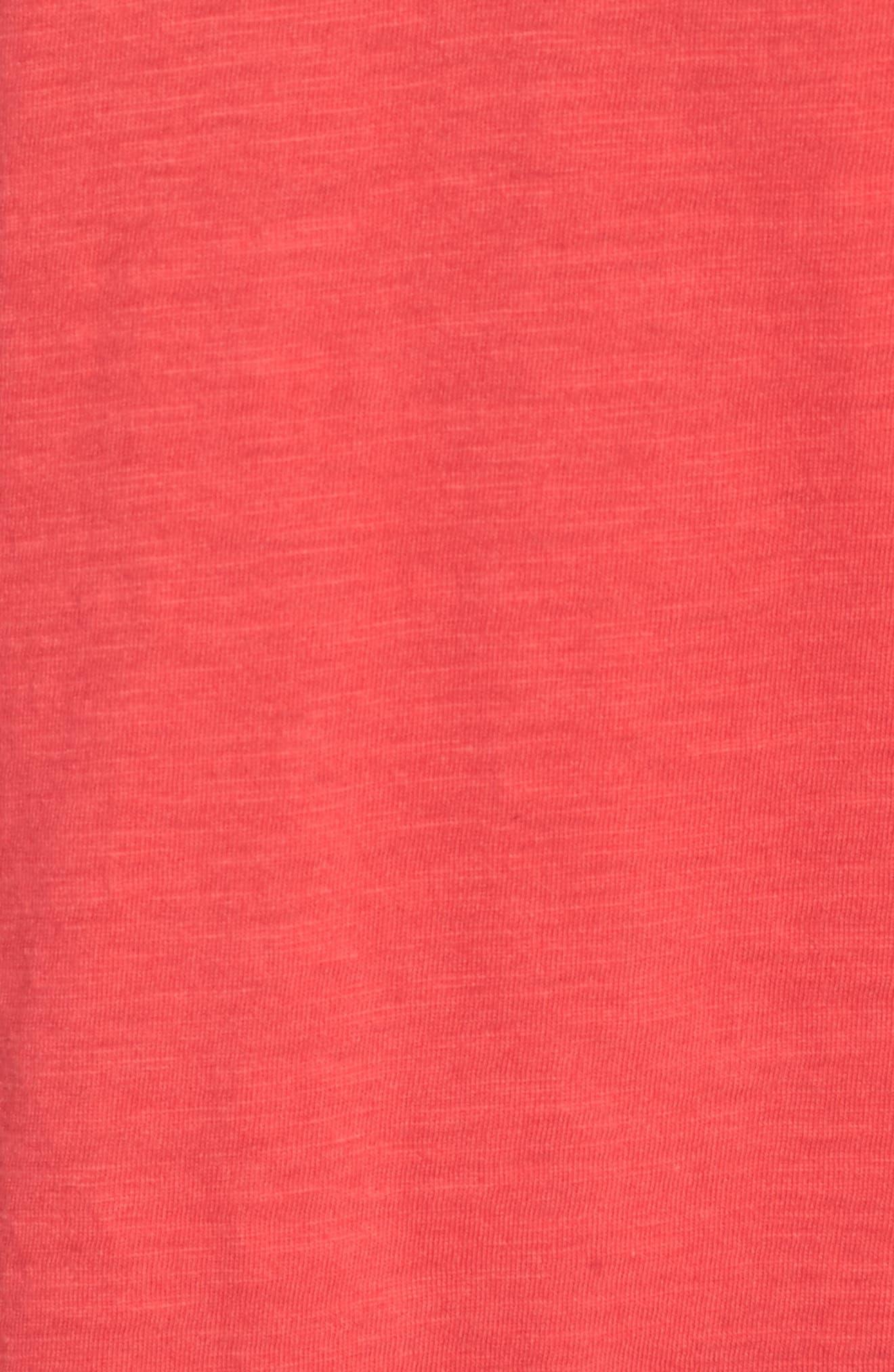 Organic Cotton V-Neck Tee,                             Alternate thumbnail 37, color,