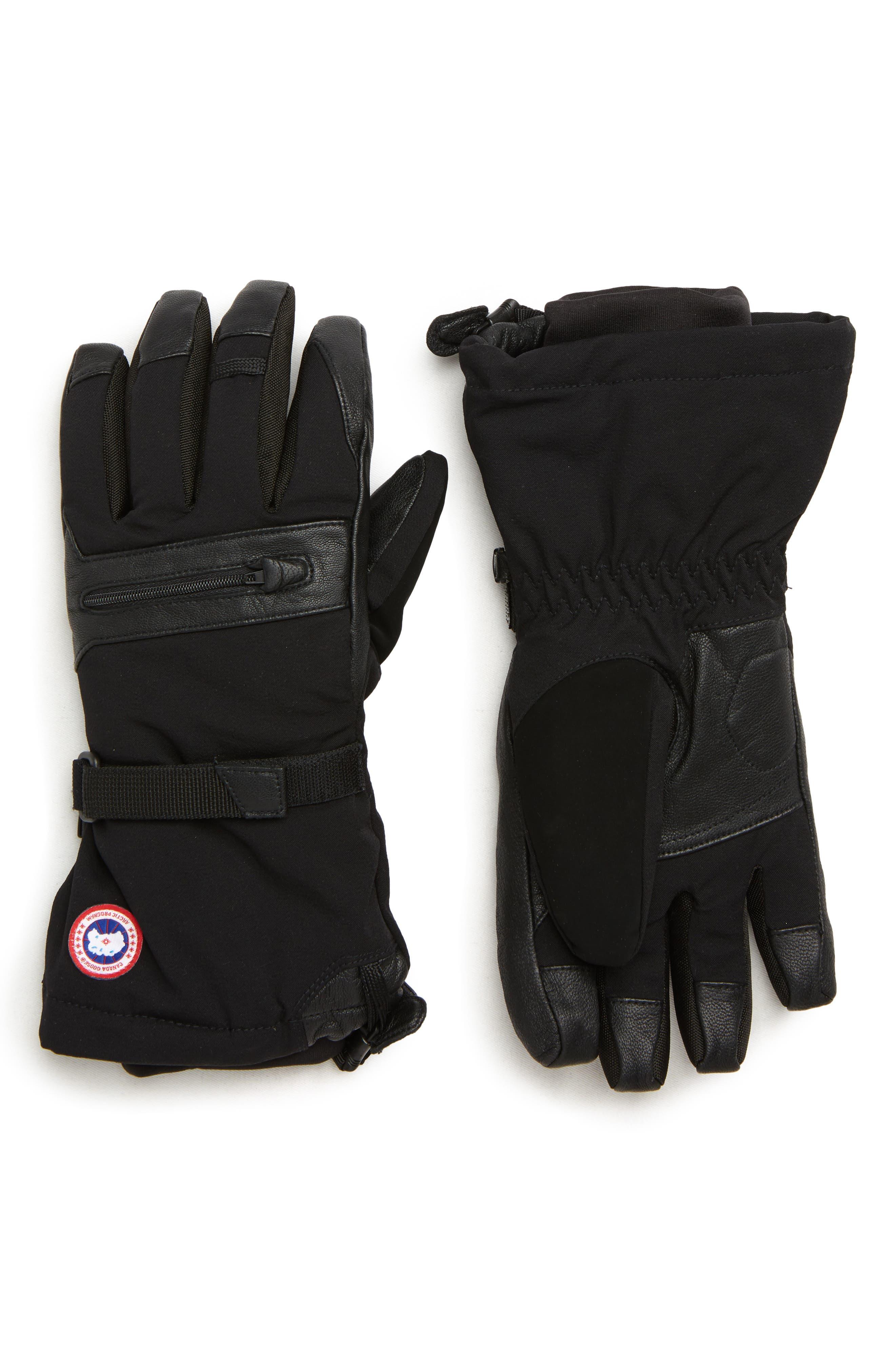 Northern Utility Gloves,                             Main thumbnail 1, color,                             BLACK