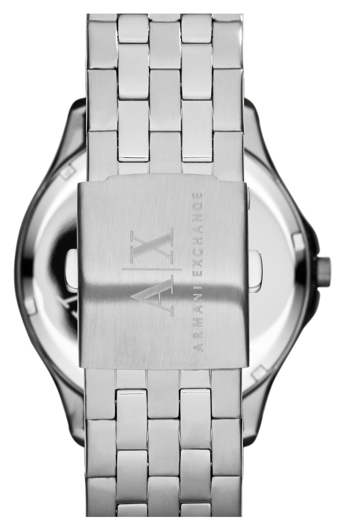 Round Bracelet Watch, 45mm,                             Alternate thumbnail 14, color,