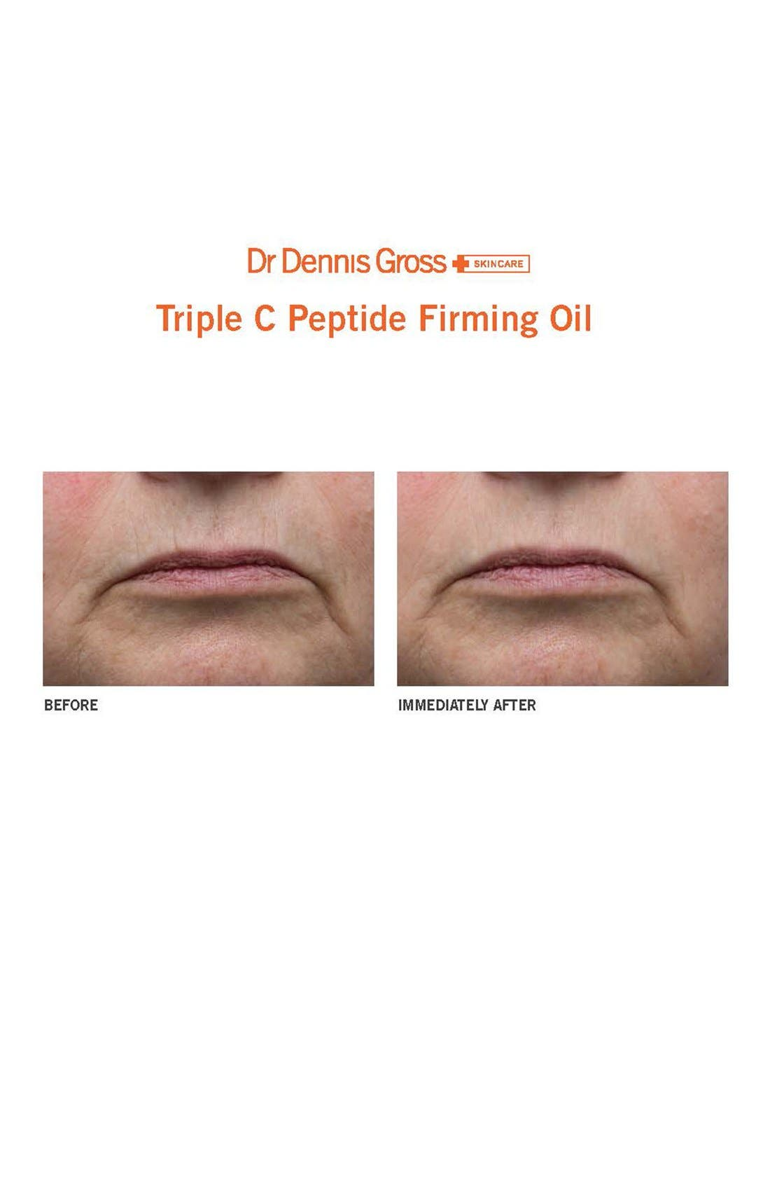 Triple C Peptide Firming Oil,                             Alternate thumbnail 2, color,                             000