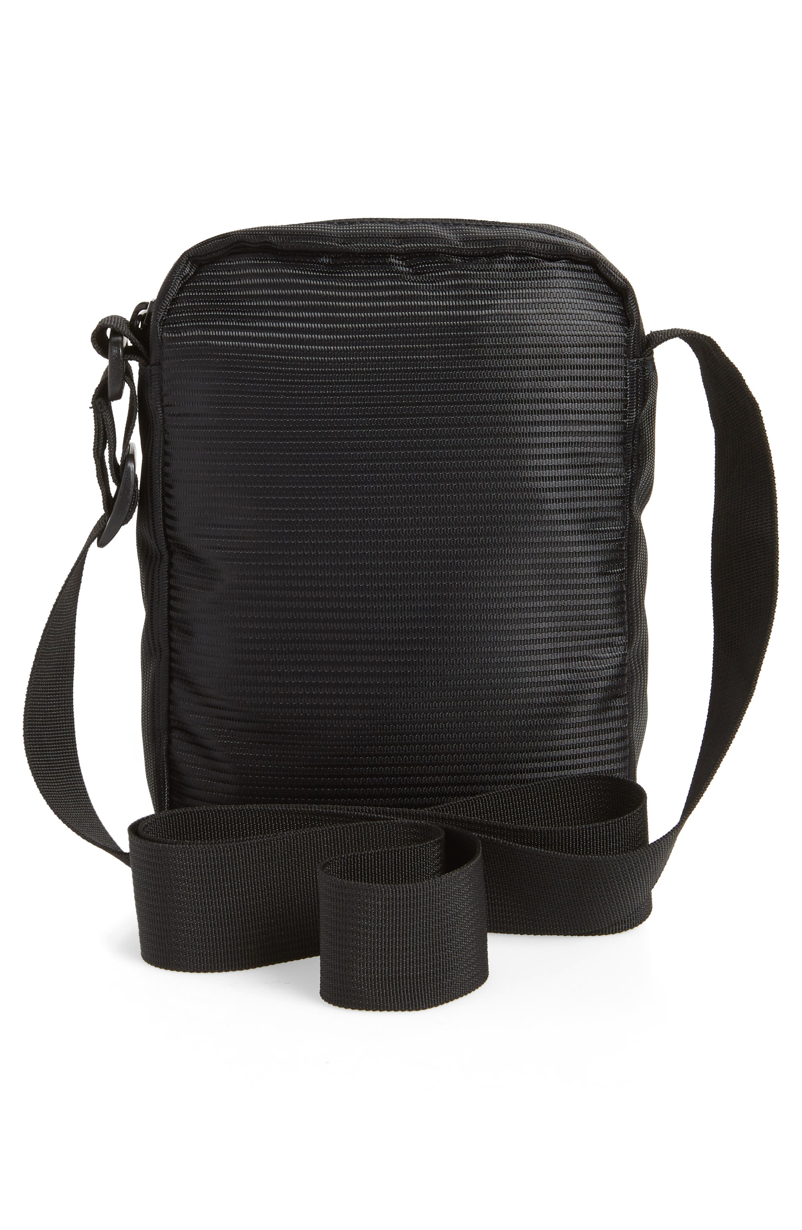 Crossbody FX Bag,                             Alternate thumbnail 3, color,                             BLACK LINE CORD