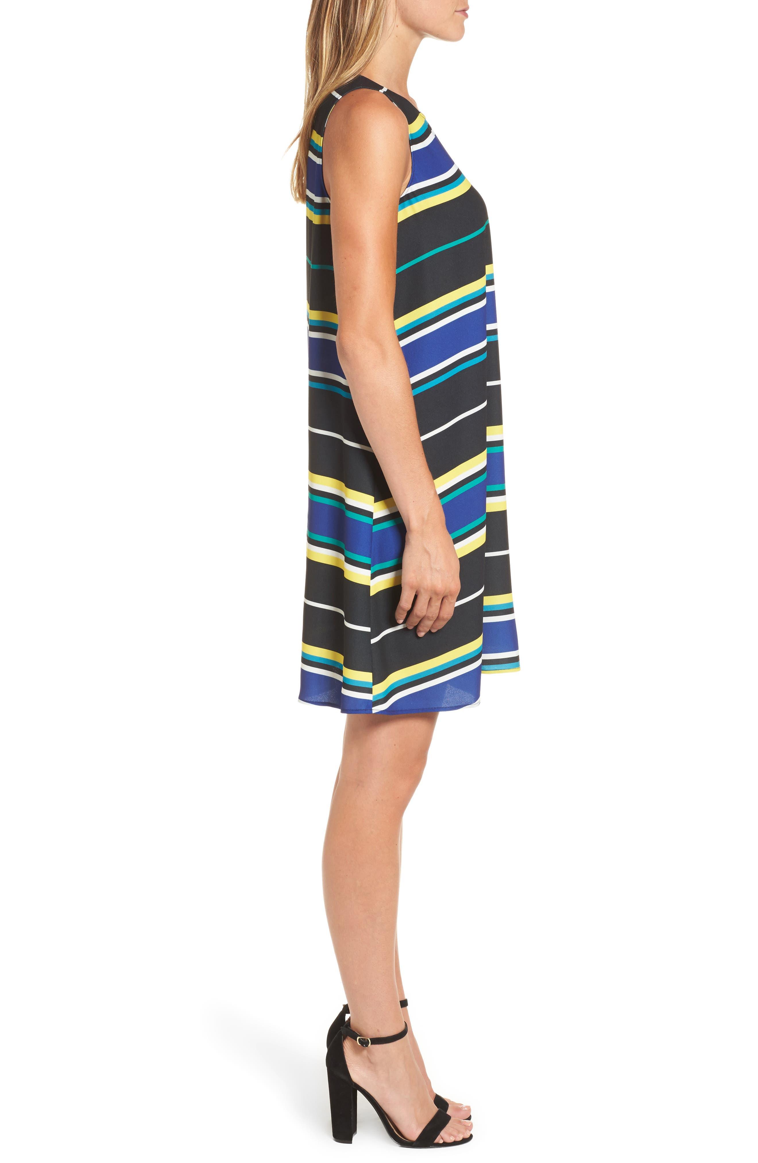 A-Line Dress,                             Alternate thumbnail 3, color,                             005
