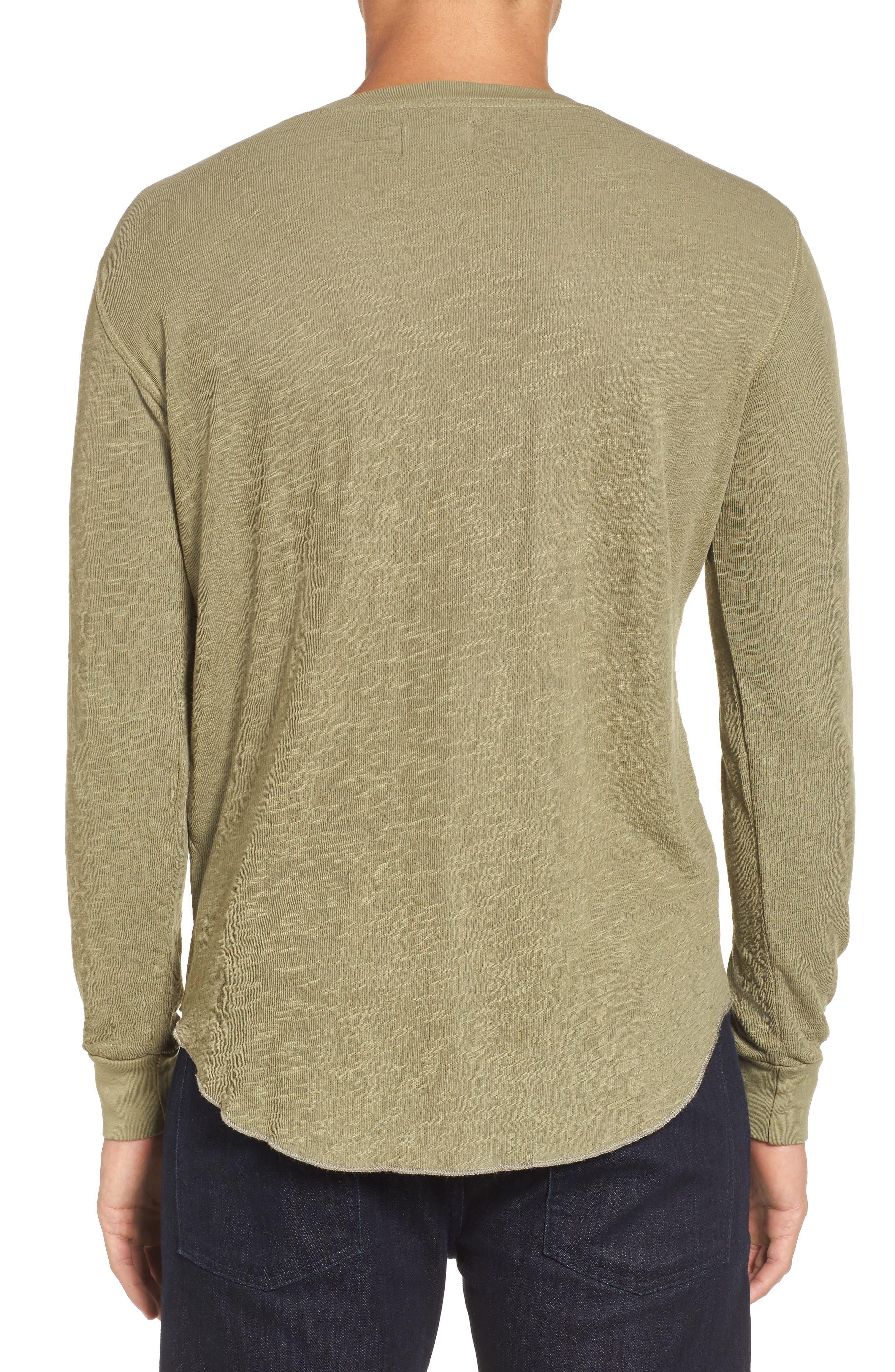 Double Layer Slim Crewneck T-Shirt,                             Alternate thumbnail 12, color,