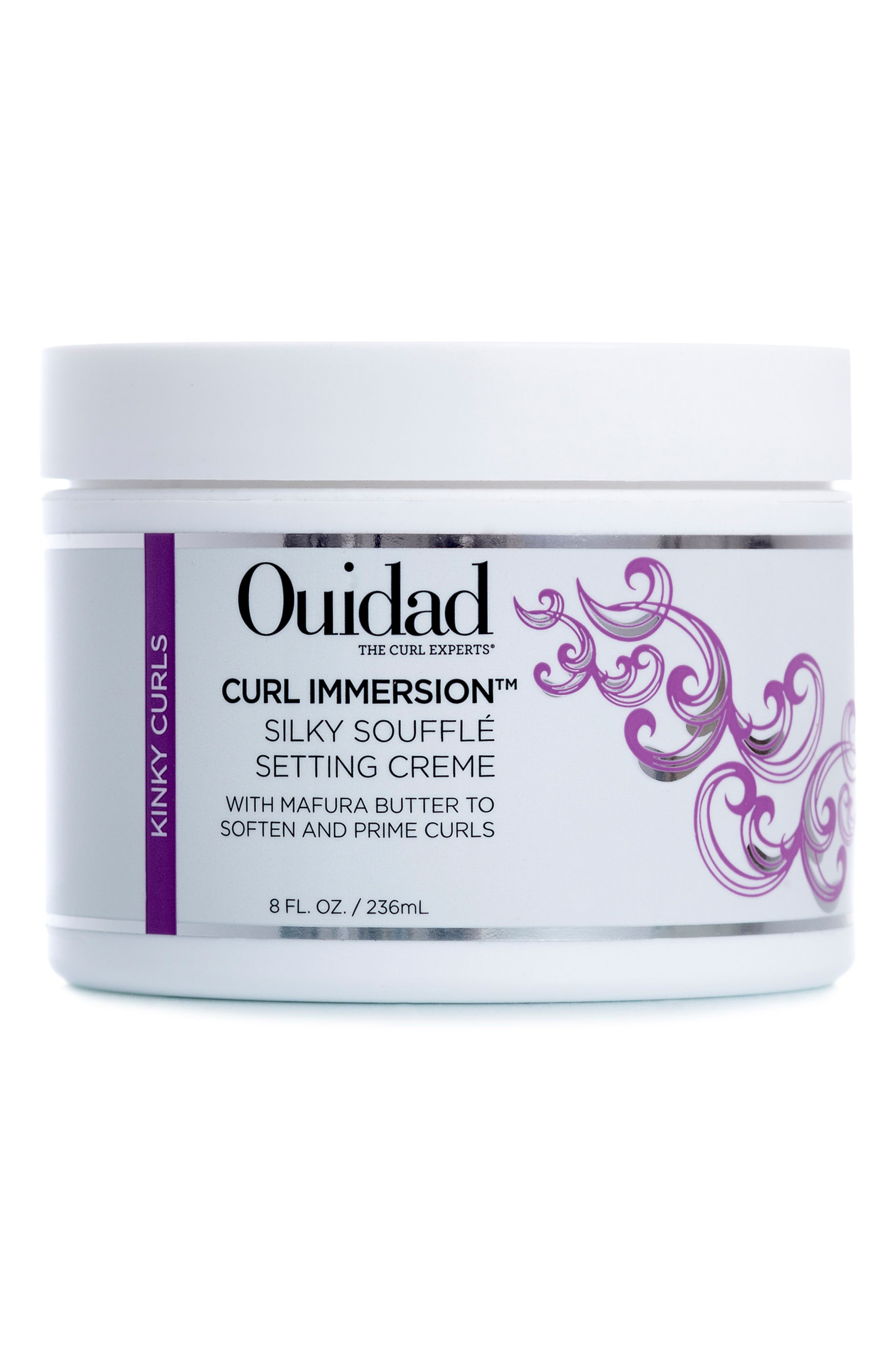 Curl Immersion<sup>™</sup> Silky Soufflé Setting Creme,                             Main thumbnail 1, color,                             000