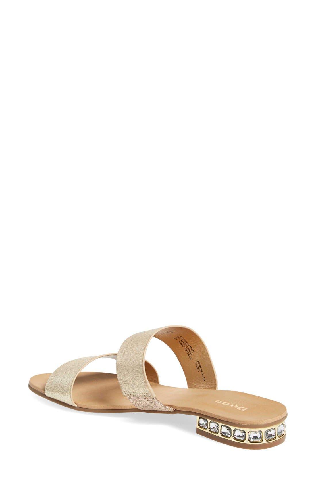 'Nesha' Flat Slide Sandal,                             Alternate thumbnail 2, color,                             713