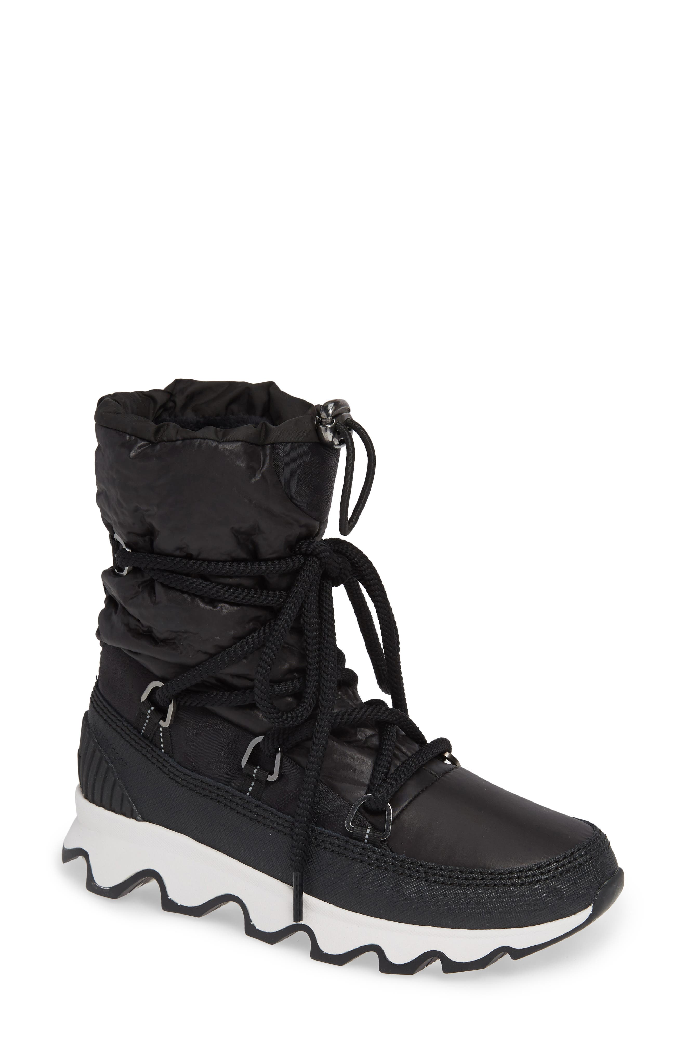 Kinetic Waterproof Insulated Winter Boot,                             Main thumbnail 1, color,                             CAMO/ BLACK/ WHITE