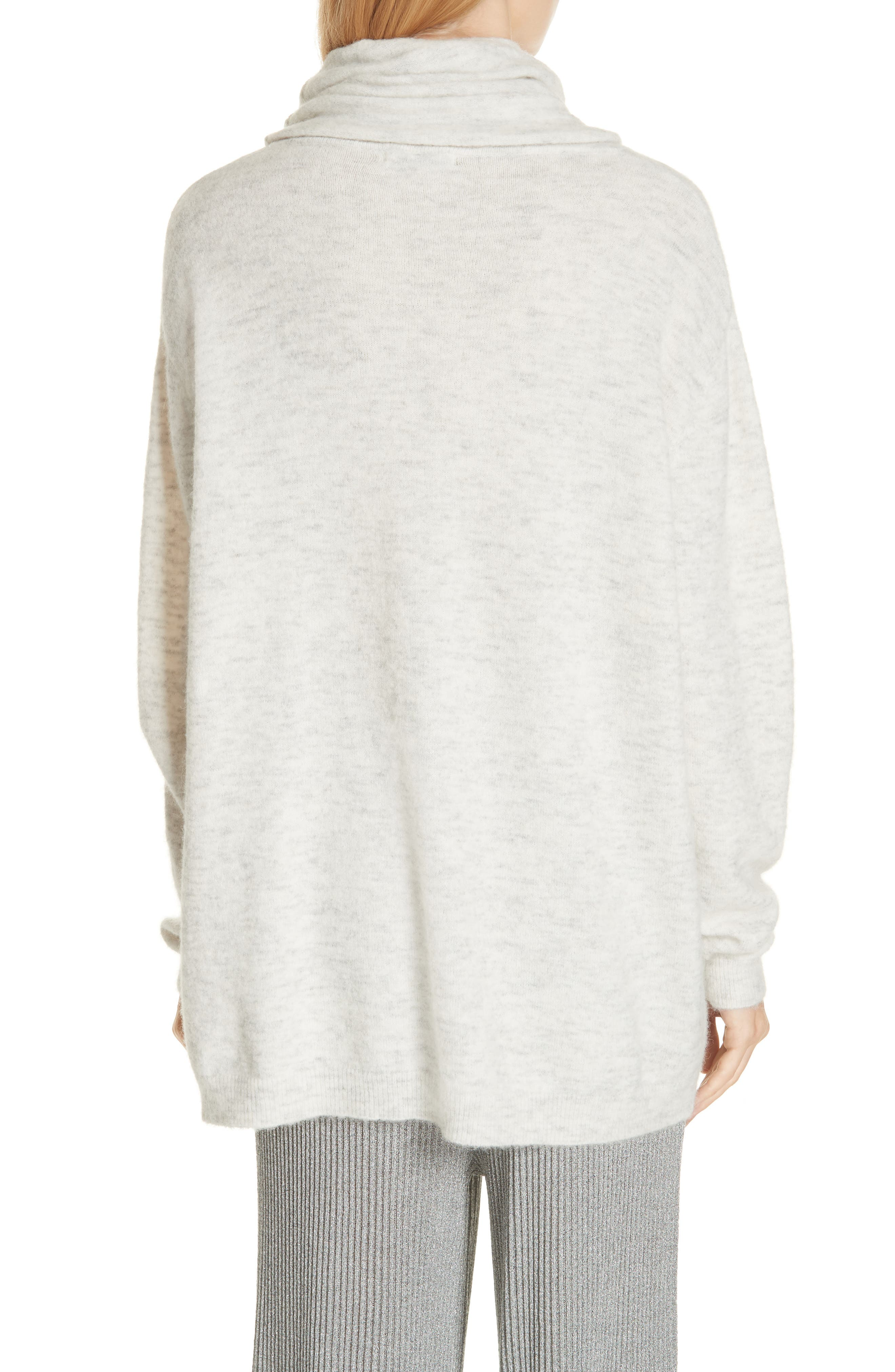 Mineral Cowl Neck Sweater,                             Alternate thumbnail 2, color,                             GREY