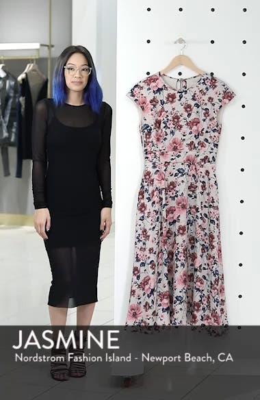 Julia Seersucker Midi Dress, sales video thumbnail