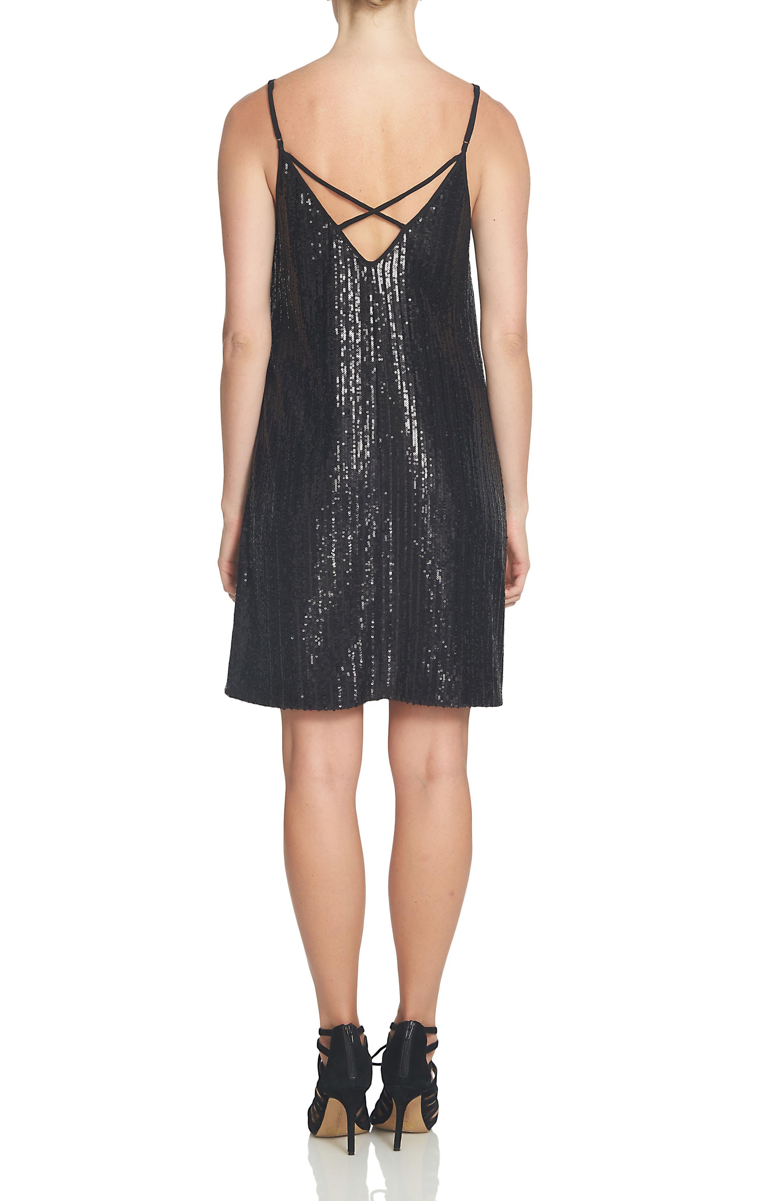 Sparkle Shift Dress,                             Alternate thumbnail 2, color,                             001