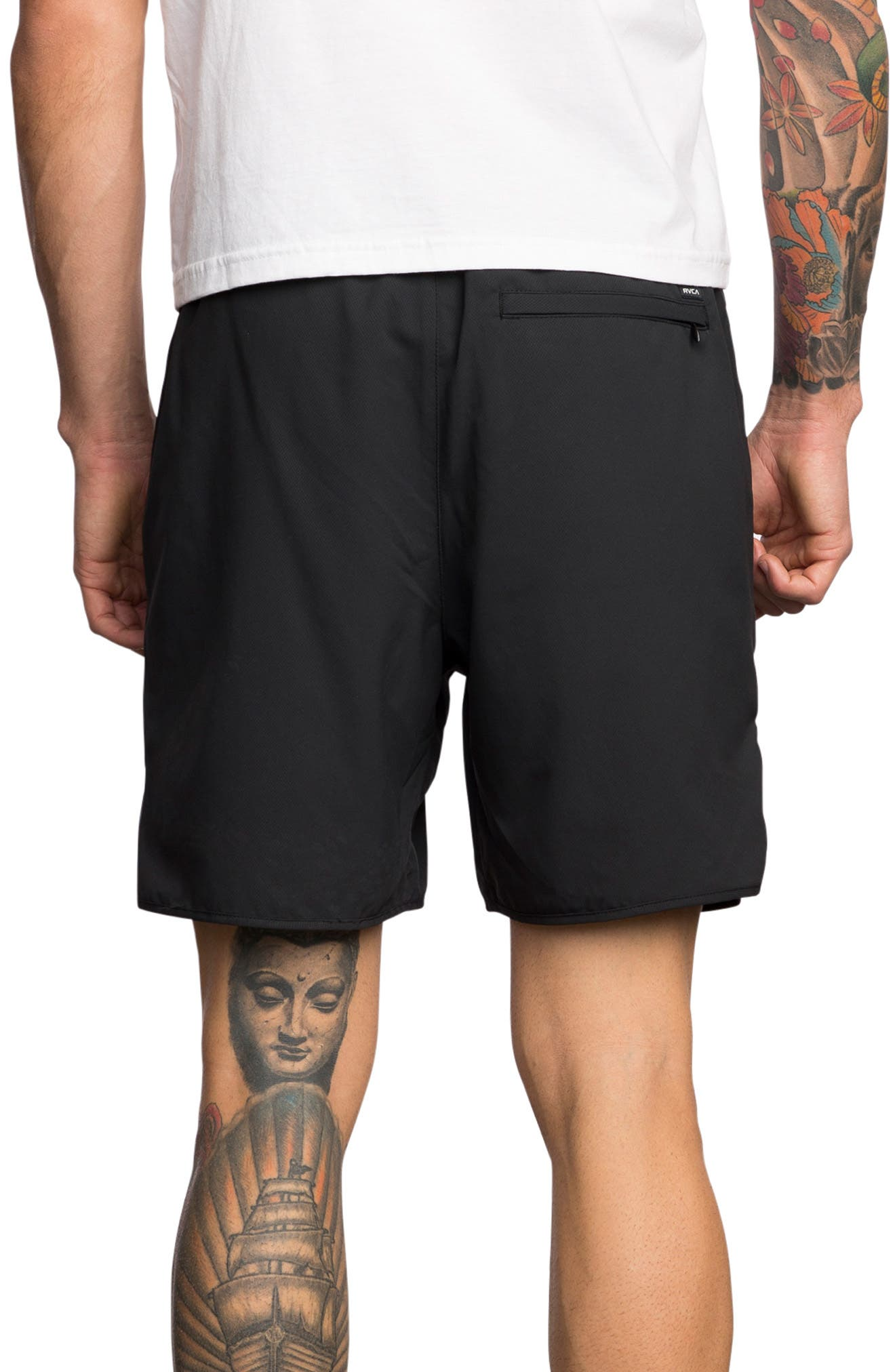 Spectrum Sport Shorts,                             Alternate thumbnail 2, color,                             BLACK