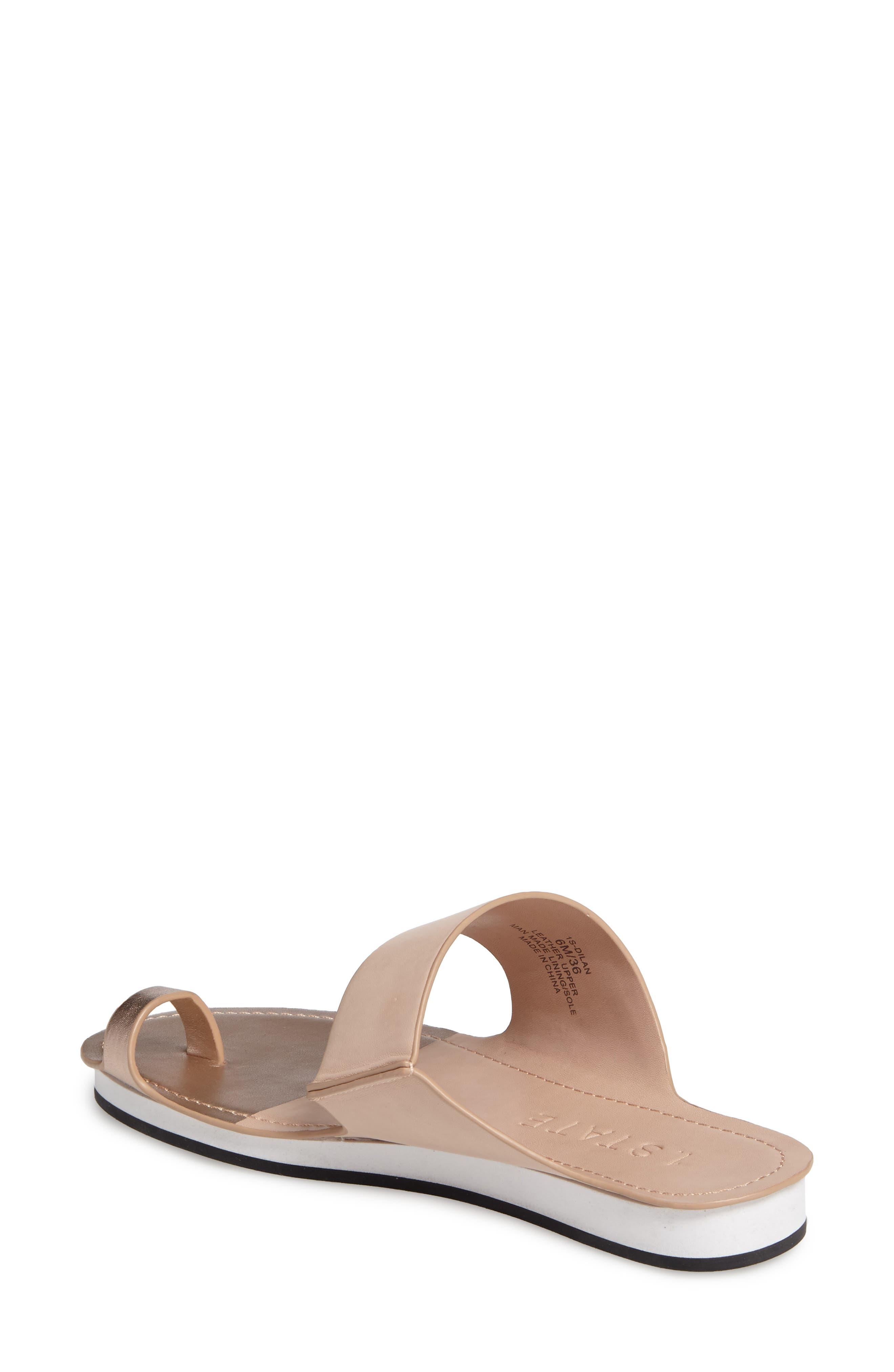 Dilan Toe Loop Sandal,                             Alternate thumbnail 6, color,