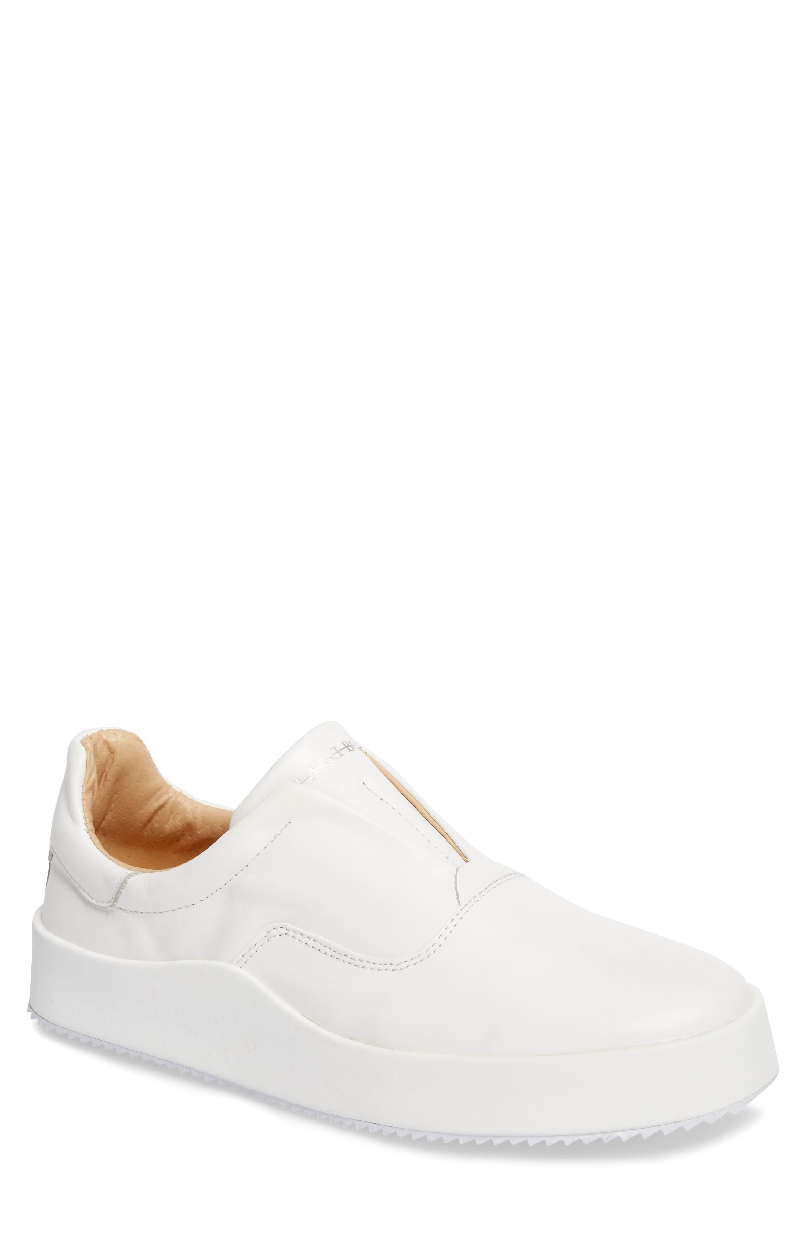 Hip & Bone Skater Slip-On Sneaker,                         Main,                         color, 100