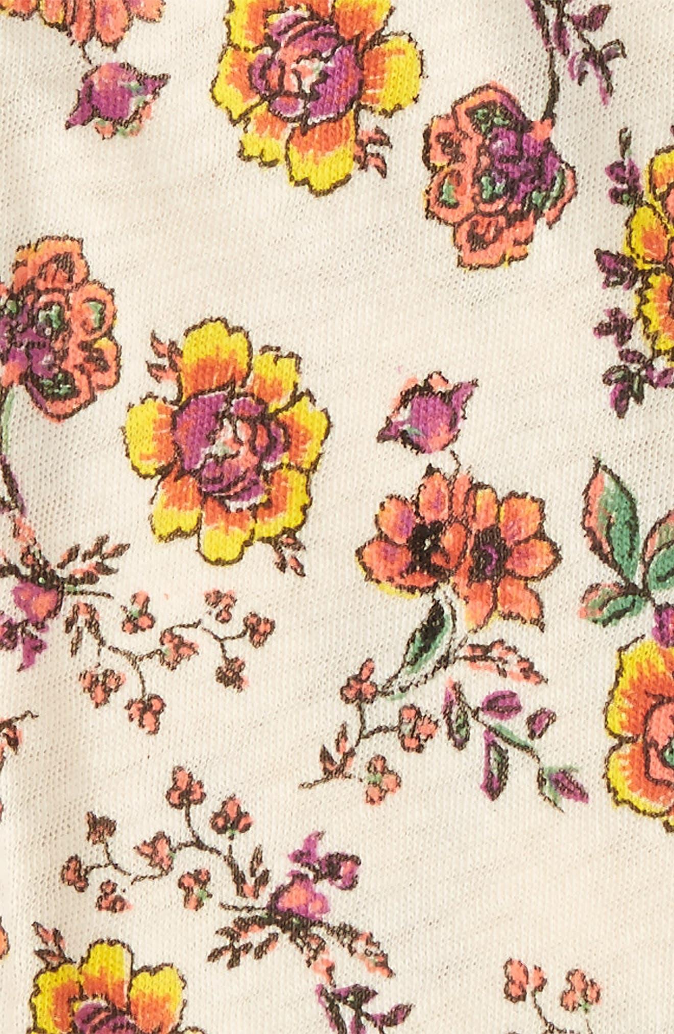 Peek Floral Print Leggings,                             Alternate thumbnail 2, color,                             900