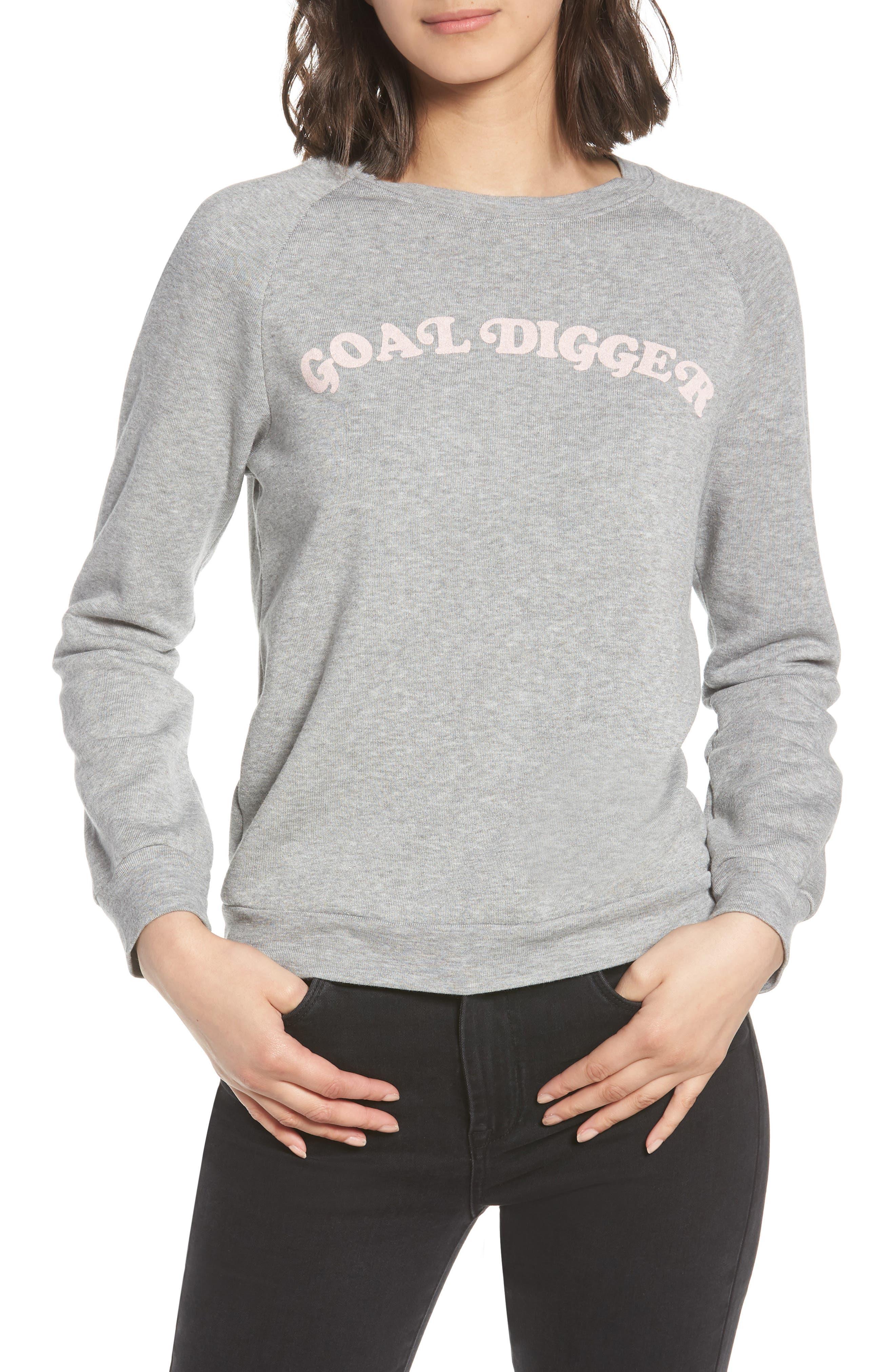 Goal Digger Sweatshirt,                         Main,                         color, 020