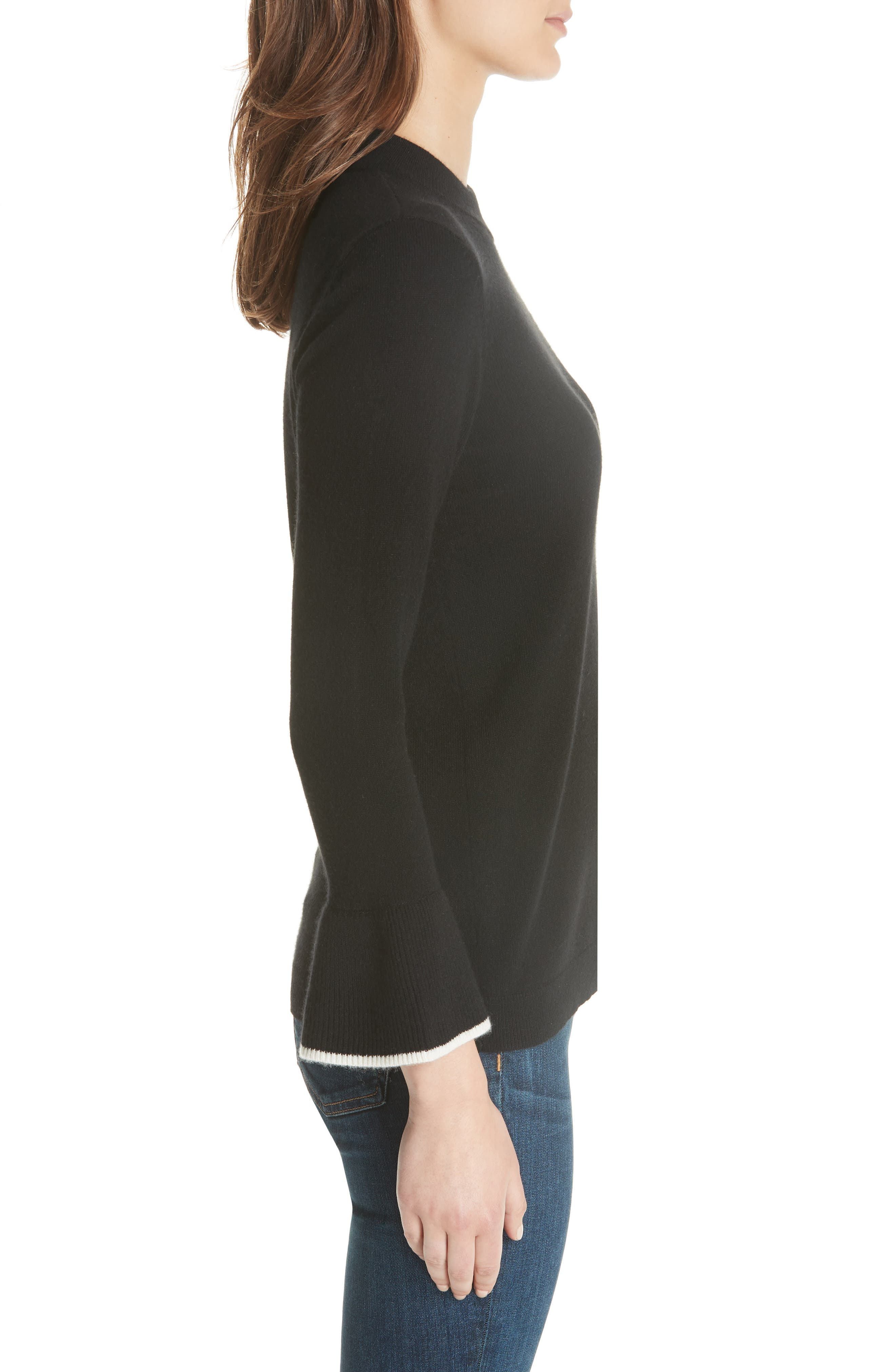 Mar Cashmere Sweater,                             Alternate thumbnail 5, color,