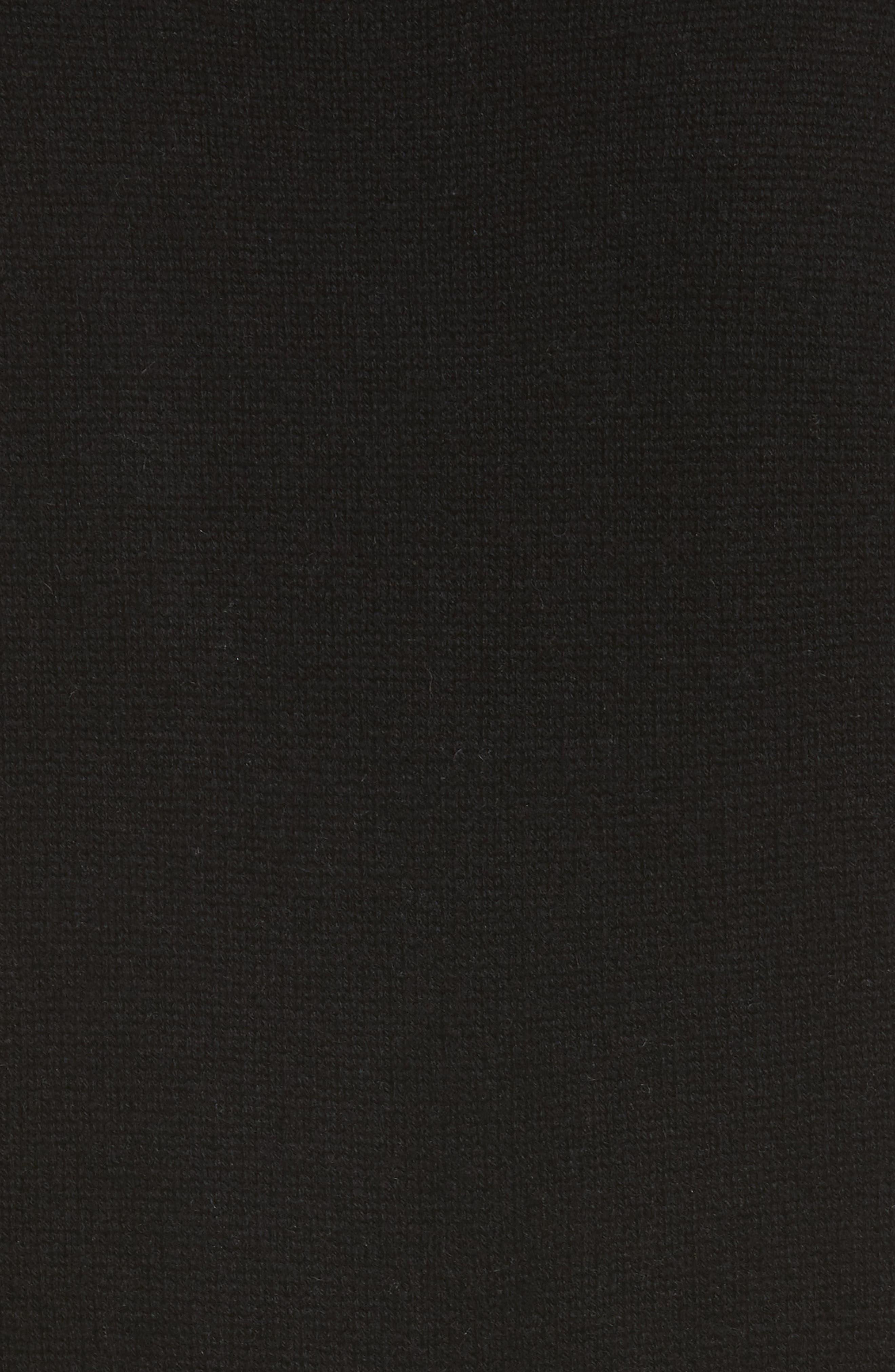 BROCHU WALKER,                             Lace Looker Sweater Dress,                             Alternate thumbnail 5, color,                             001