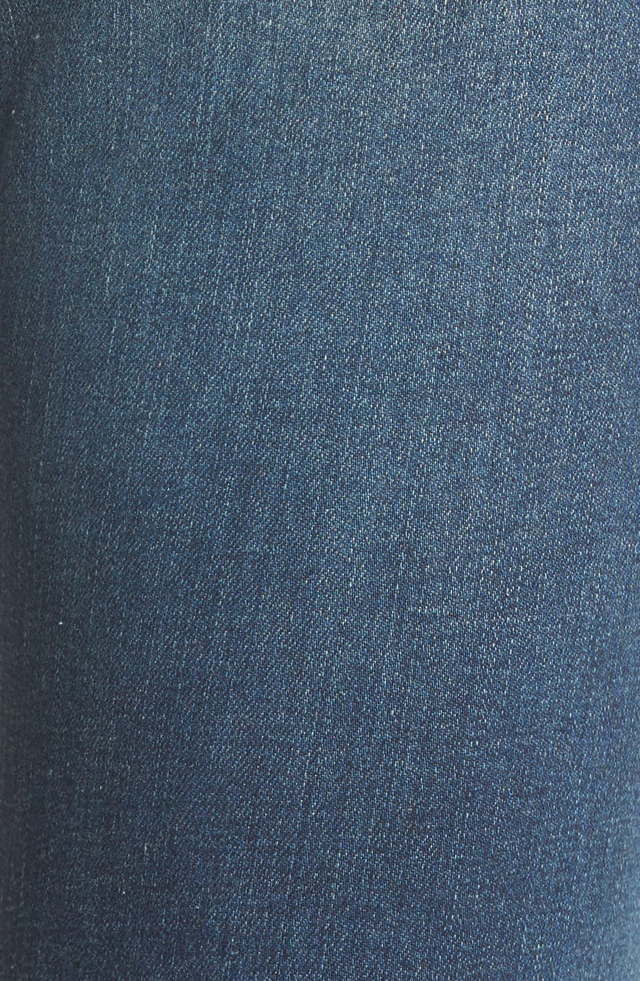 'The Farrah' High Rise Skinny Jeans,                             Alternate thumbnail 41, color,