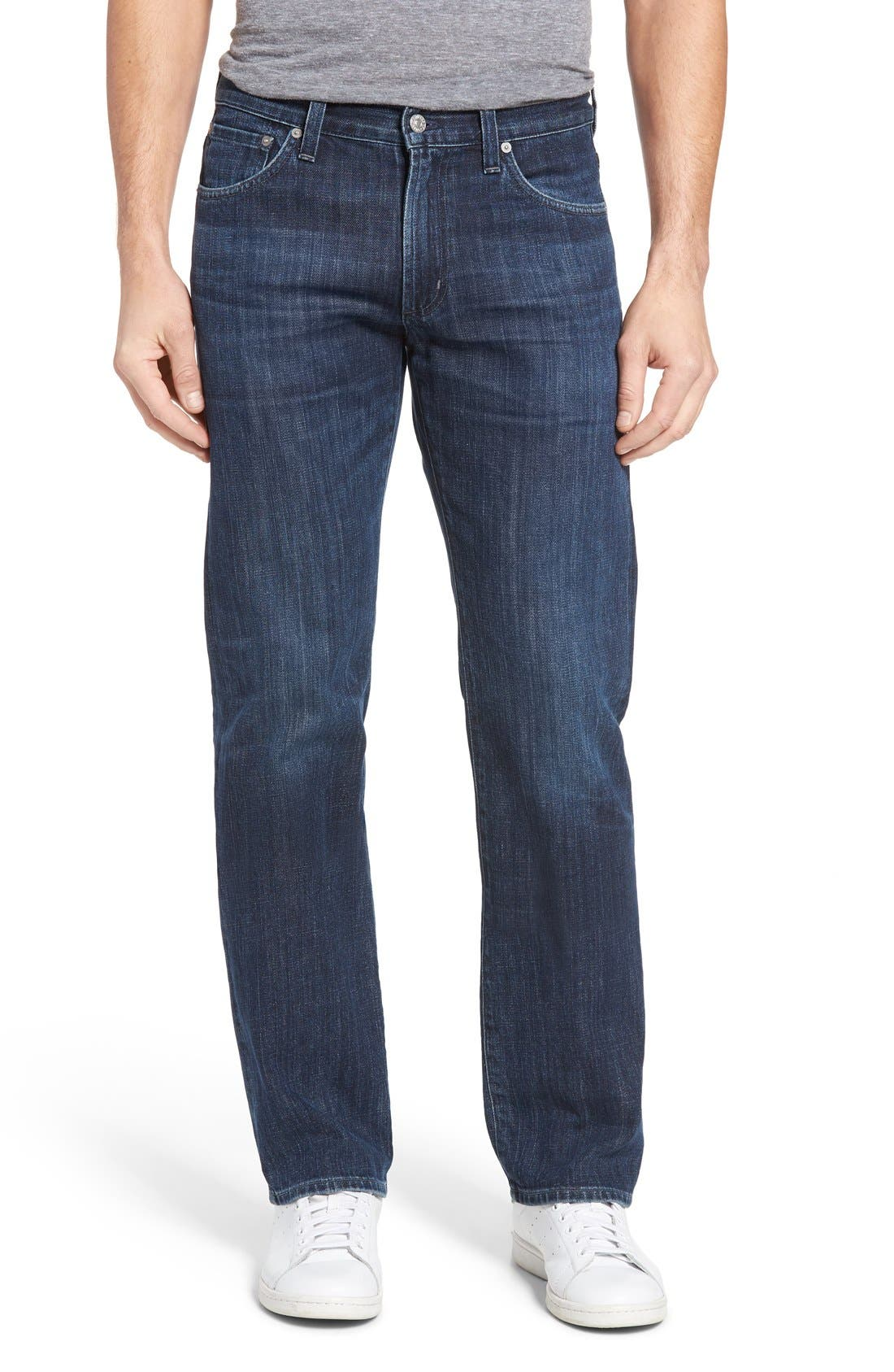 Sid Straight Leg Jeans,                         Main,                         color, 408