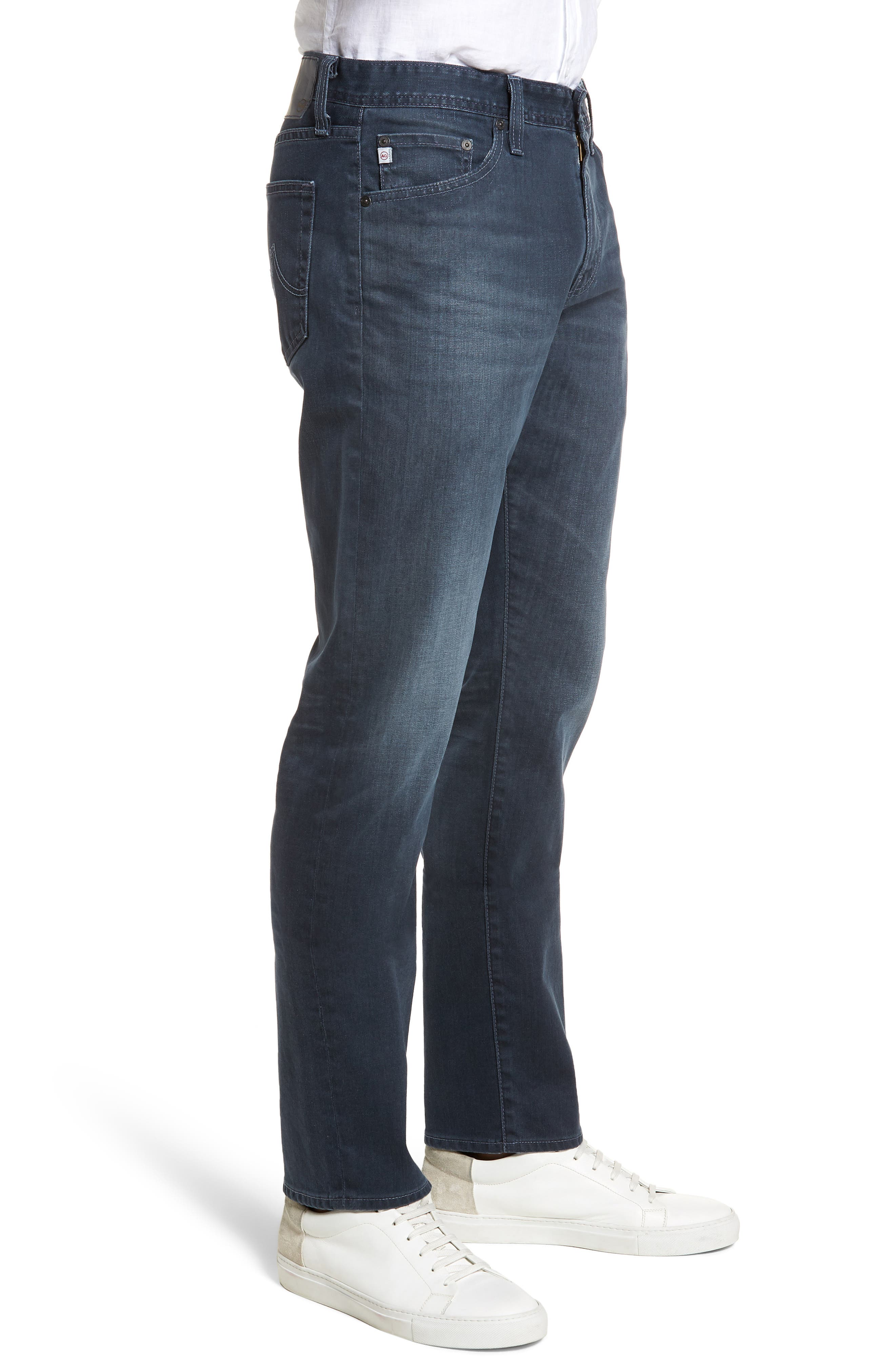 Everett Slim Straight Leg Jeans,                             Alternate thumbnail 3, color,                             9 YEARS TIDEPOOL