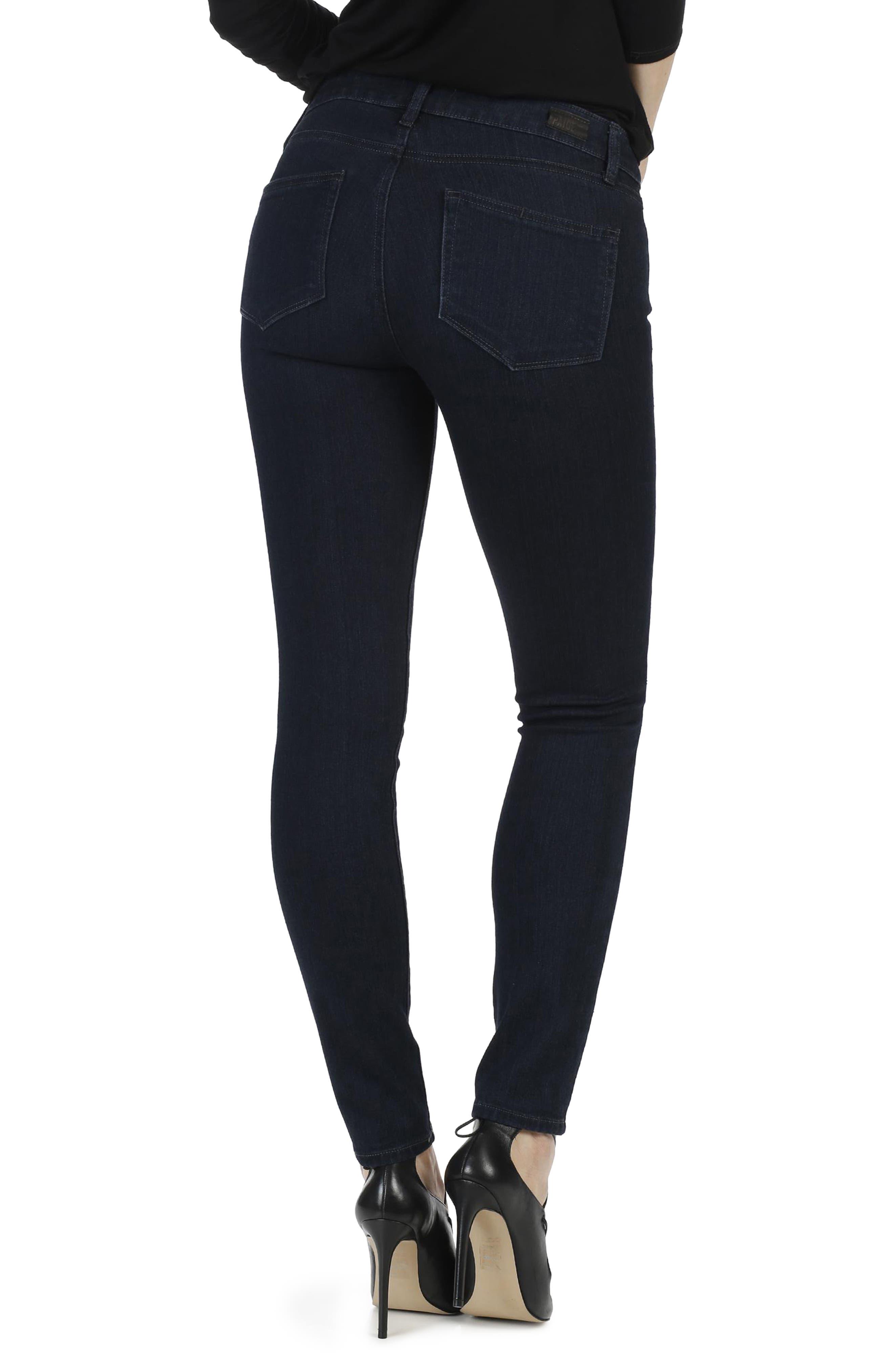 Transcend - Verdugo Ankle Ultra Skinny Jeans,                             Alternate thumbnail 3, color,                             400