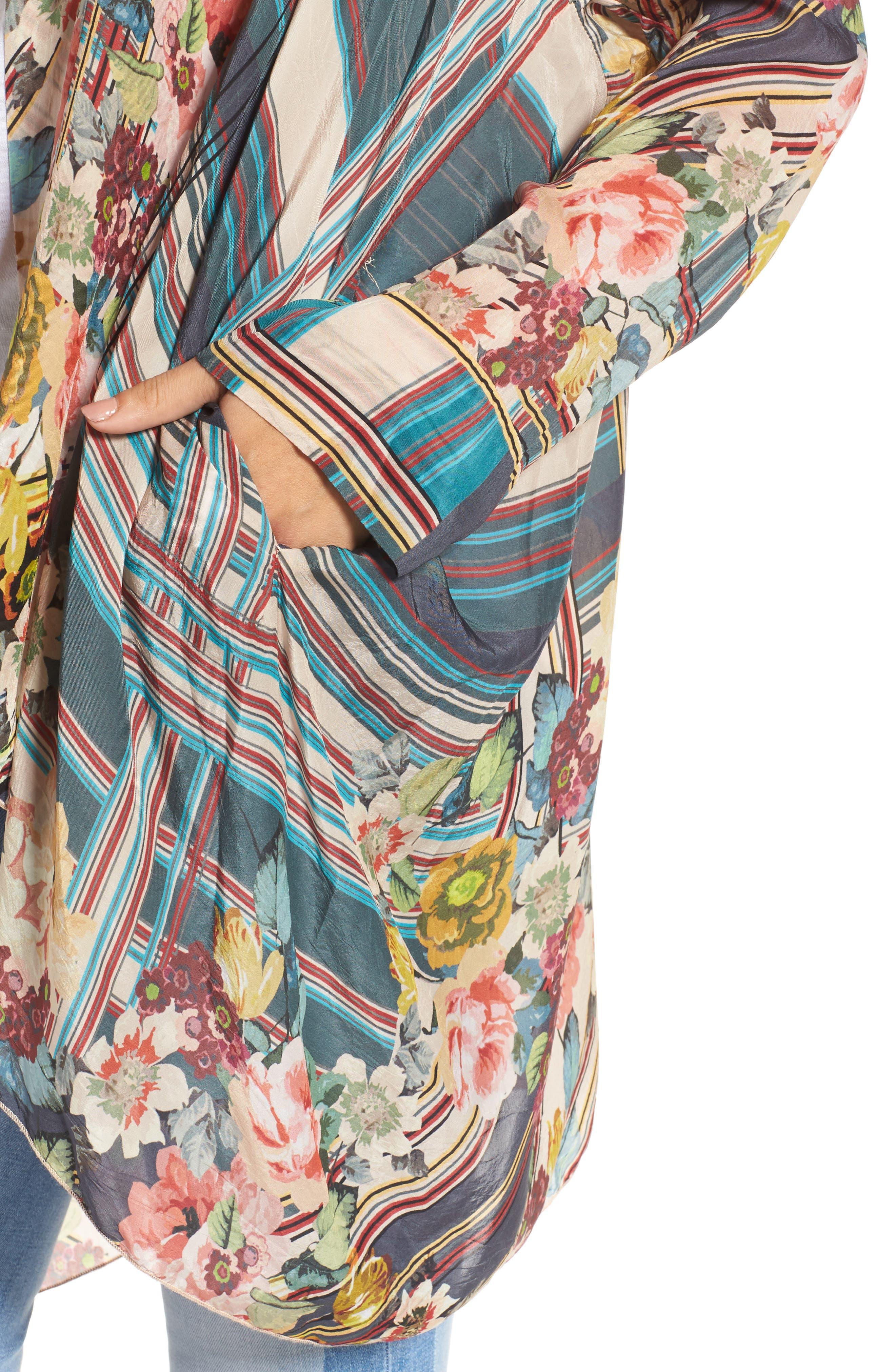 JOHNNY WAS,                             Wilimina Kimono,                             Alternate thumbnail 4, color,                             976