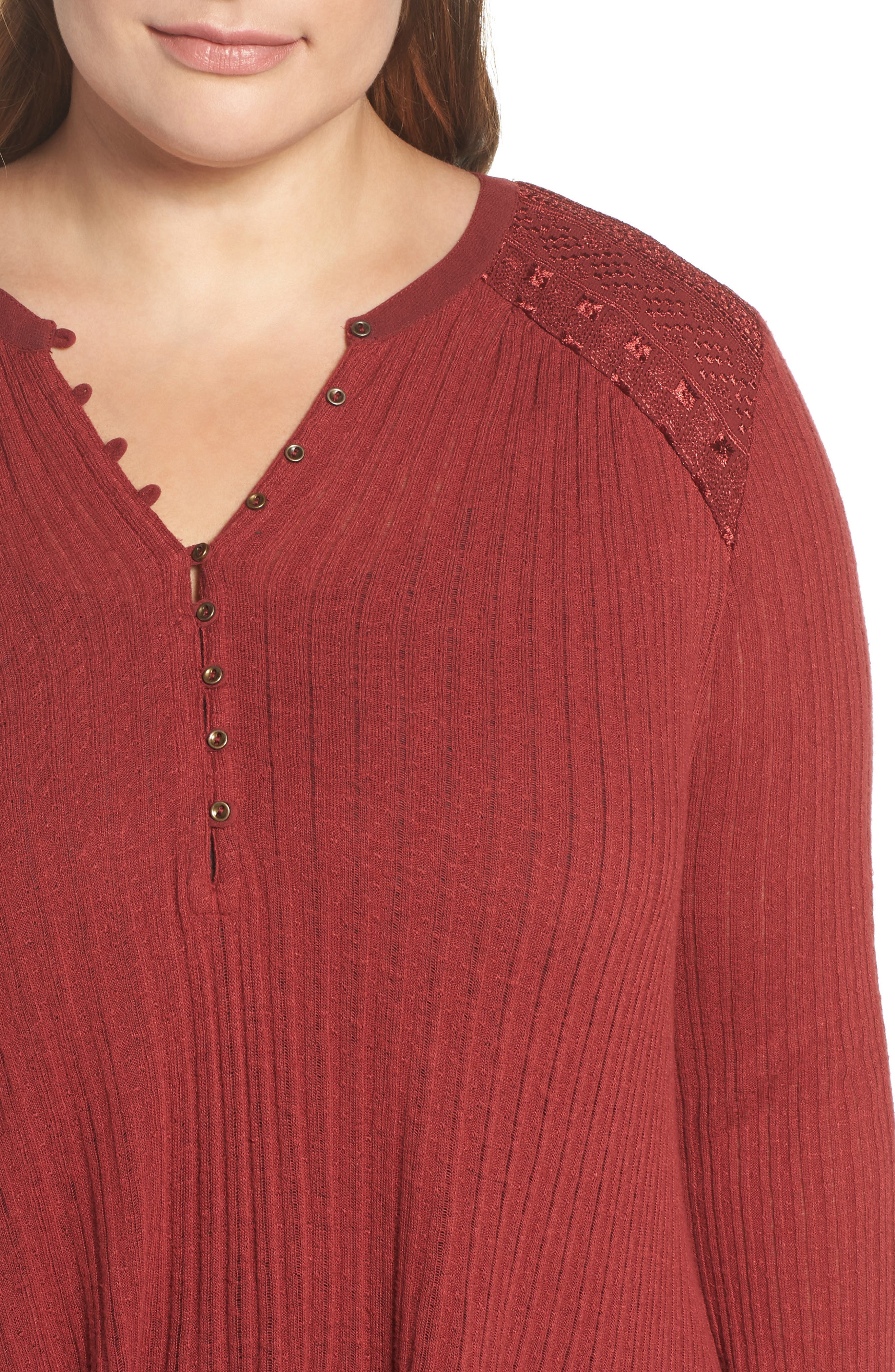 Drop Needle Ribbed Pullover,                             Alternate thumbnail 7, color,