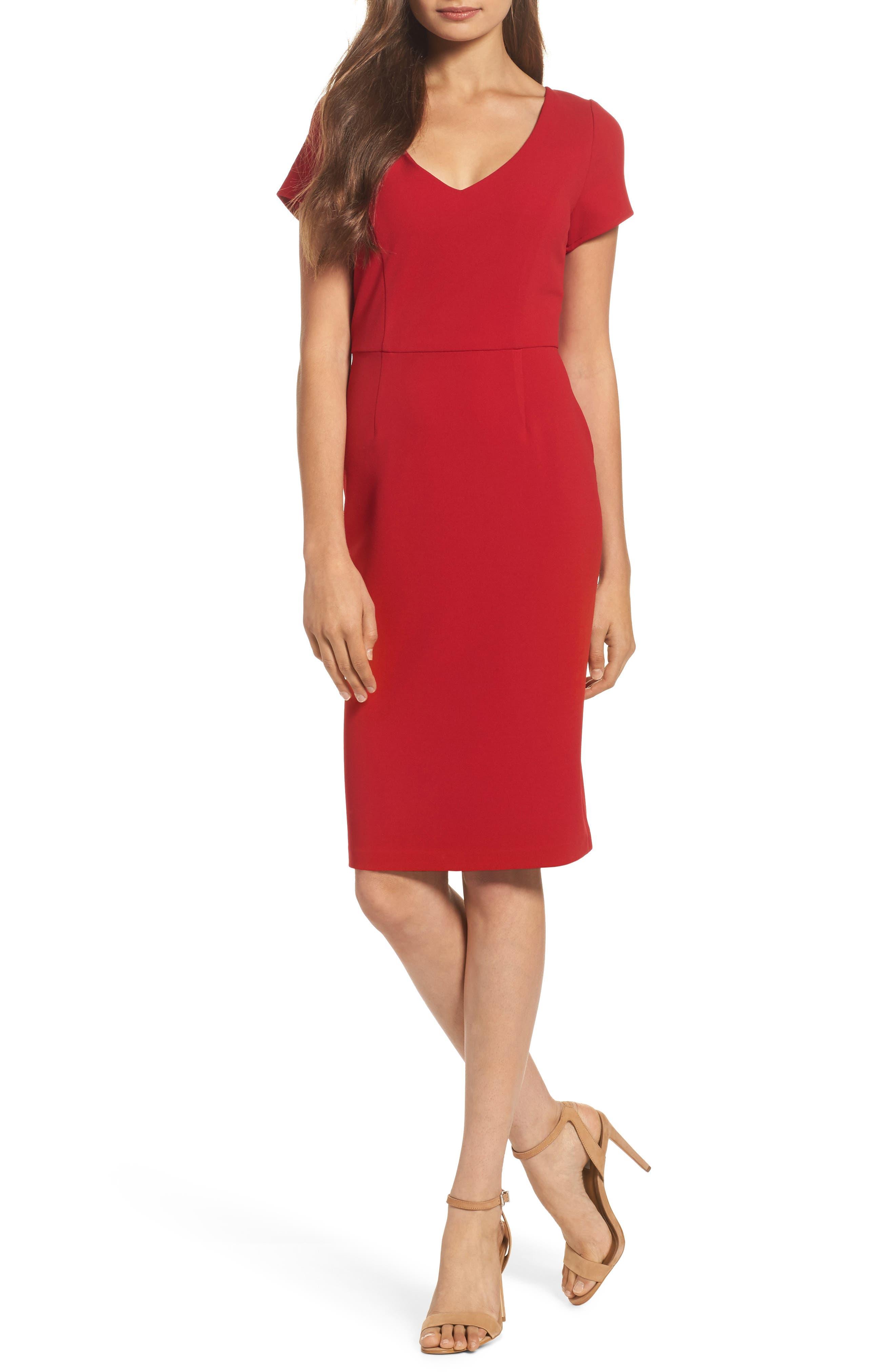 Sheath Dress,                         Main,                         color, 600