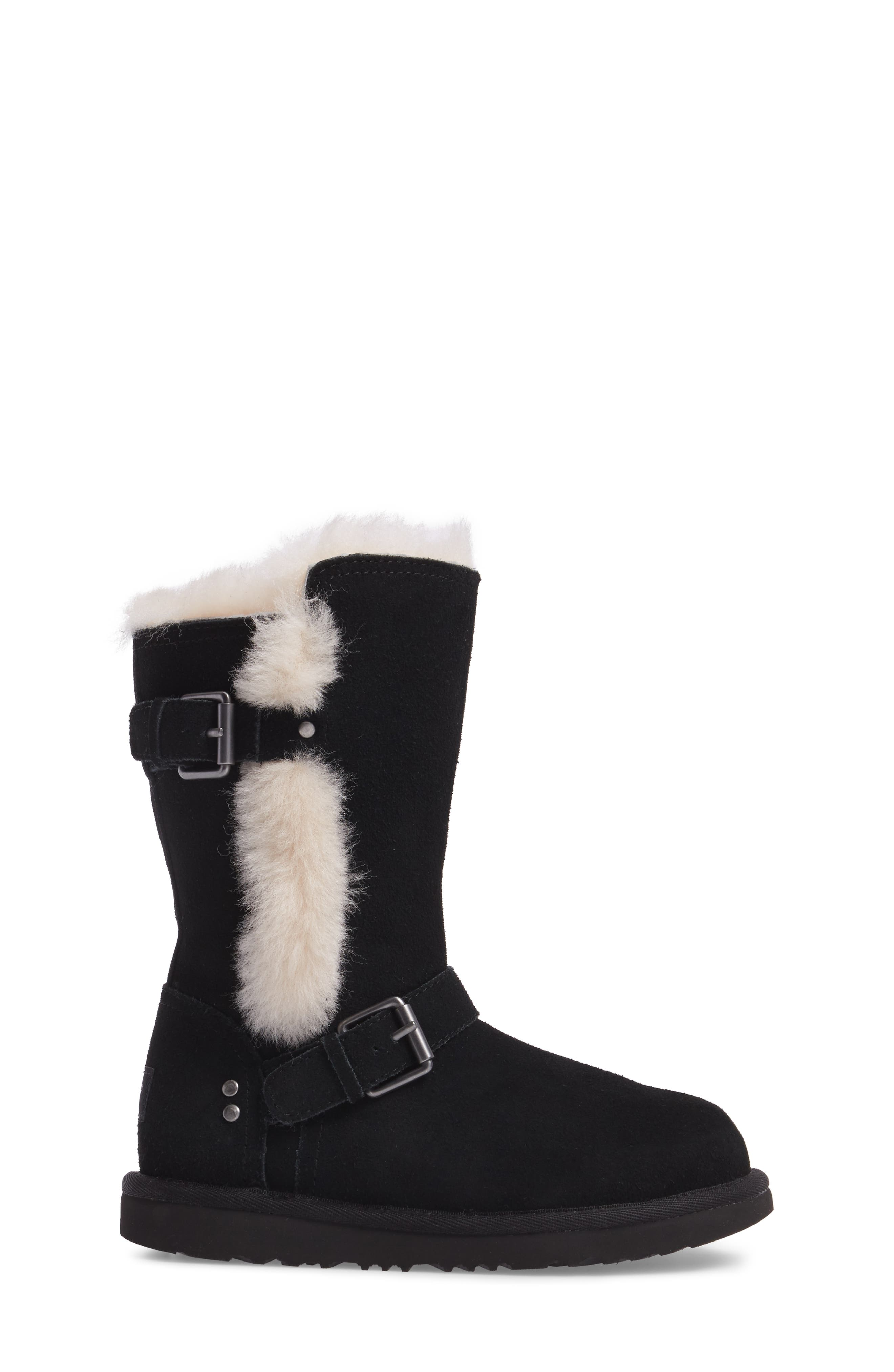 Magda Water Resistant Boot,                             Alternate thumbnail 3, color,                             001