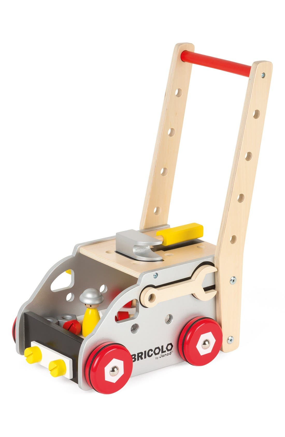 'Bricolo Redmaster Workbench and Trolley' Toy Set,                         Main,                         color, MULTI